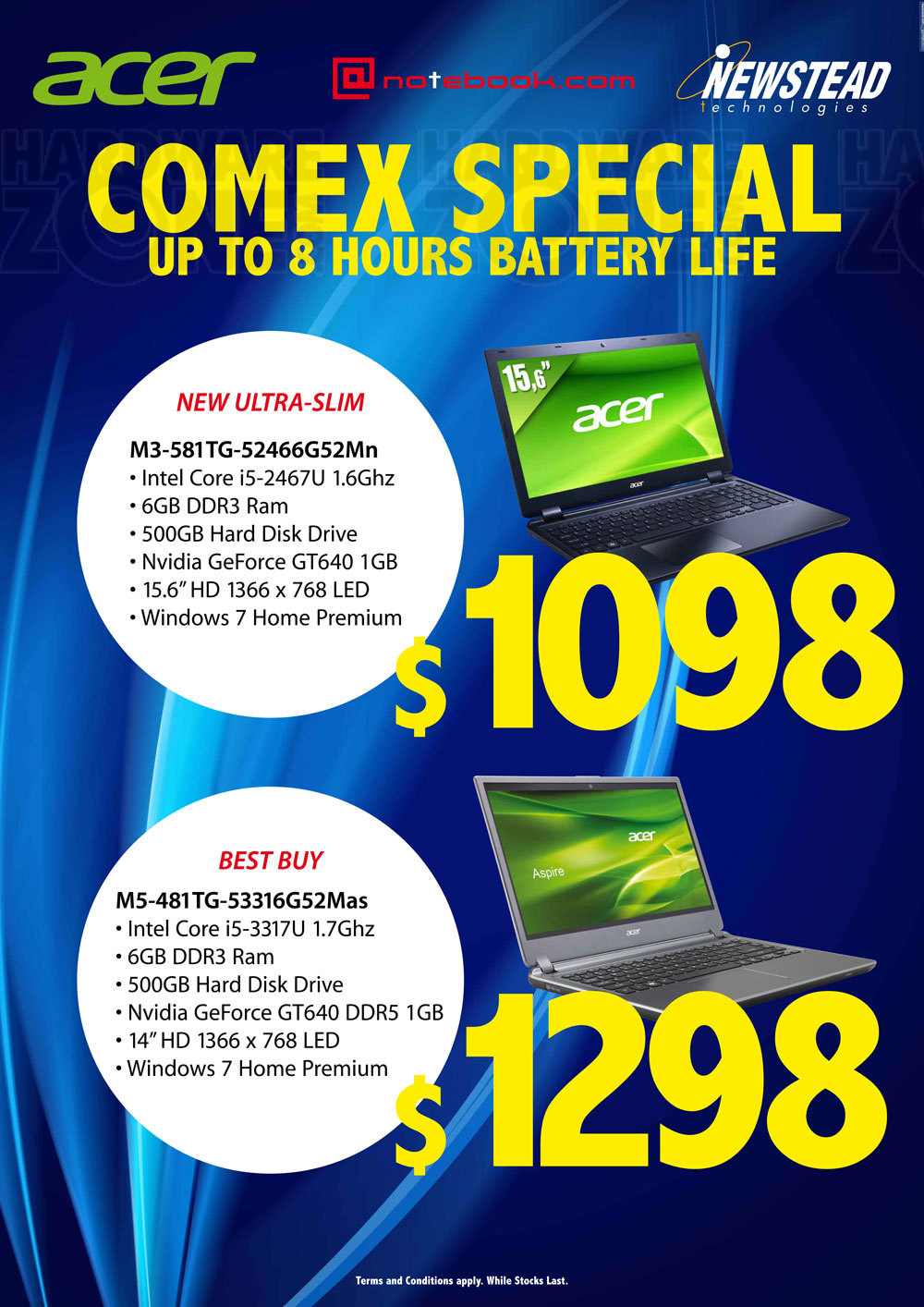 Newstead Acer Notebooks - Page 9