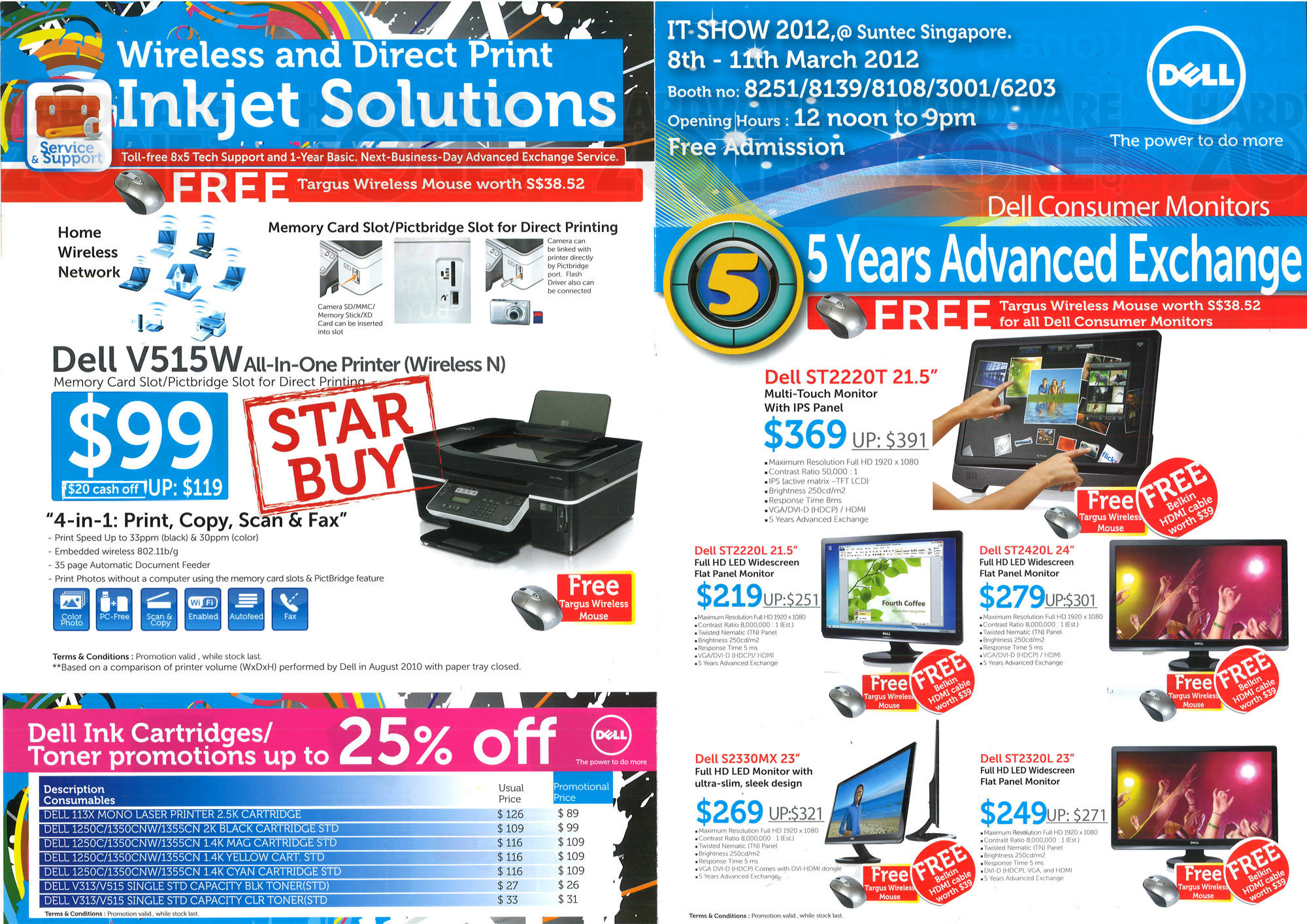 Dell Printers and Monitors - Page 1