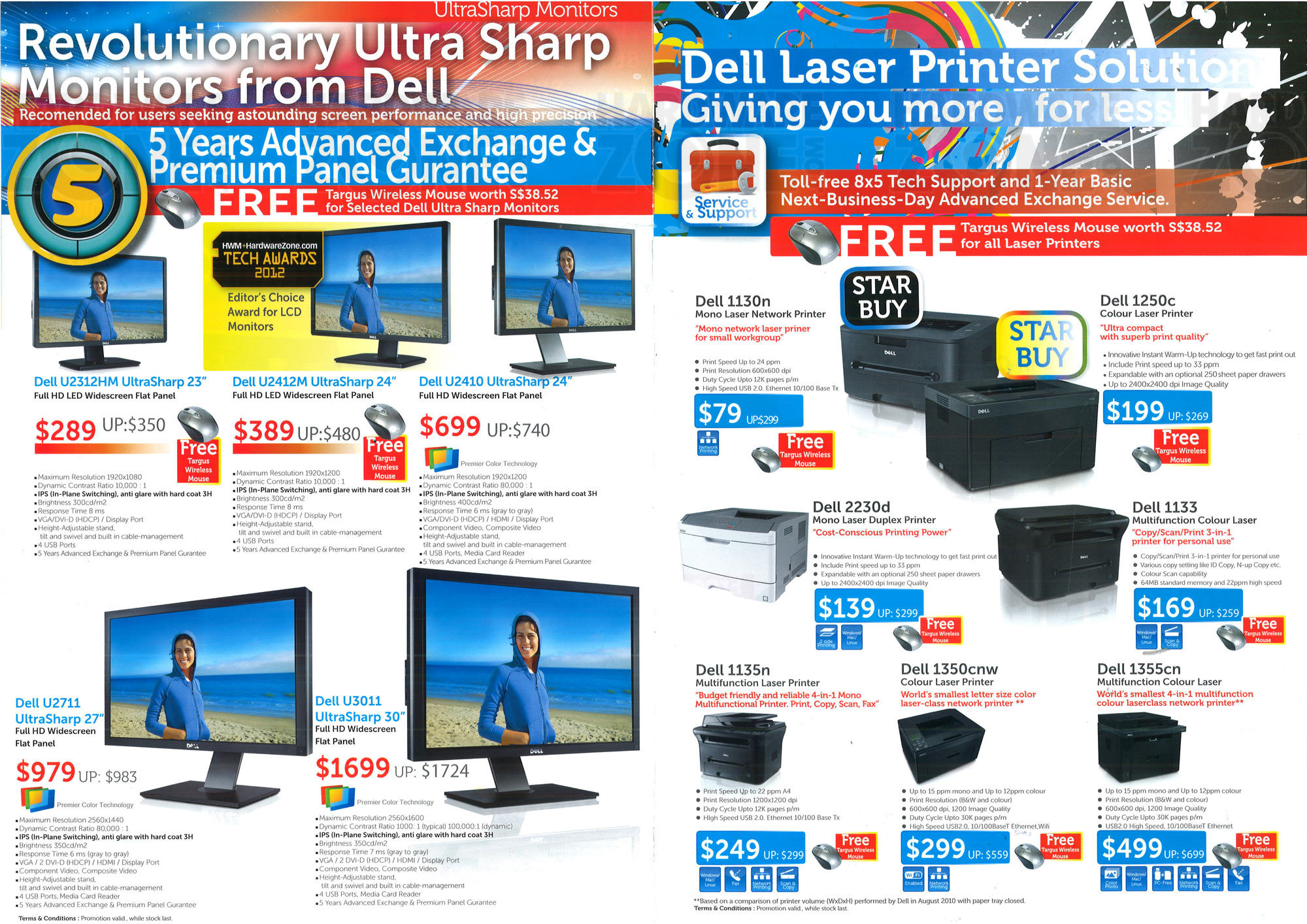Dell Printers and Monitors - Page 2