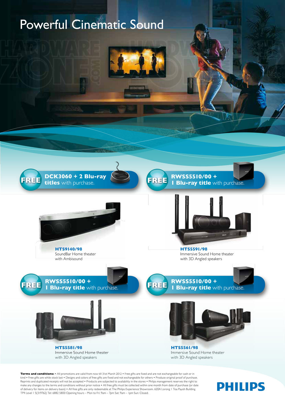 Philips Home Theater Systems - Page 1 Brochures from IT Show 2012 ...