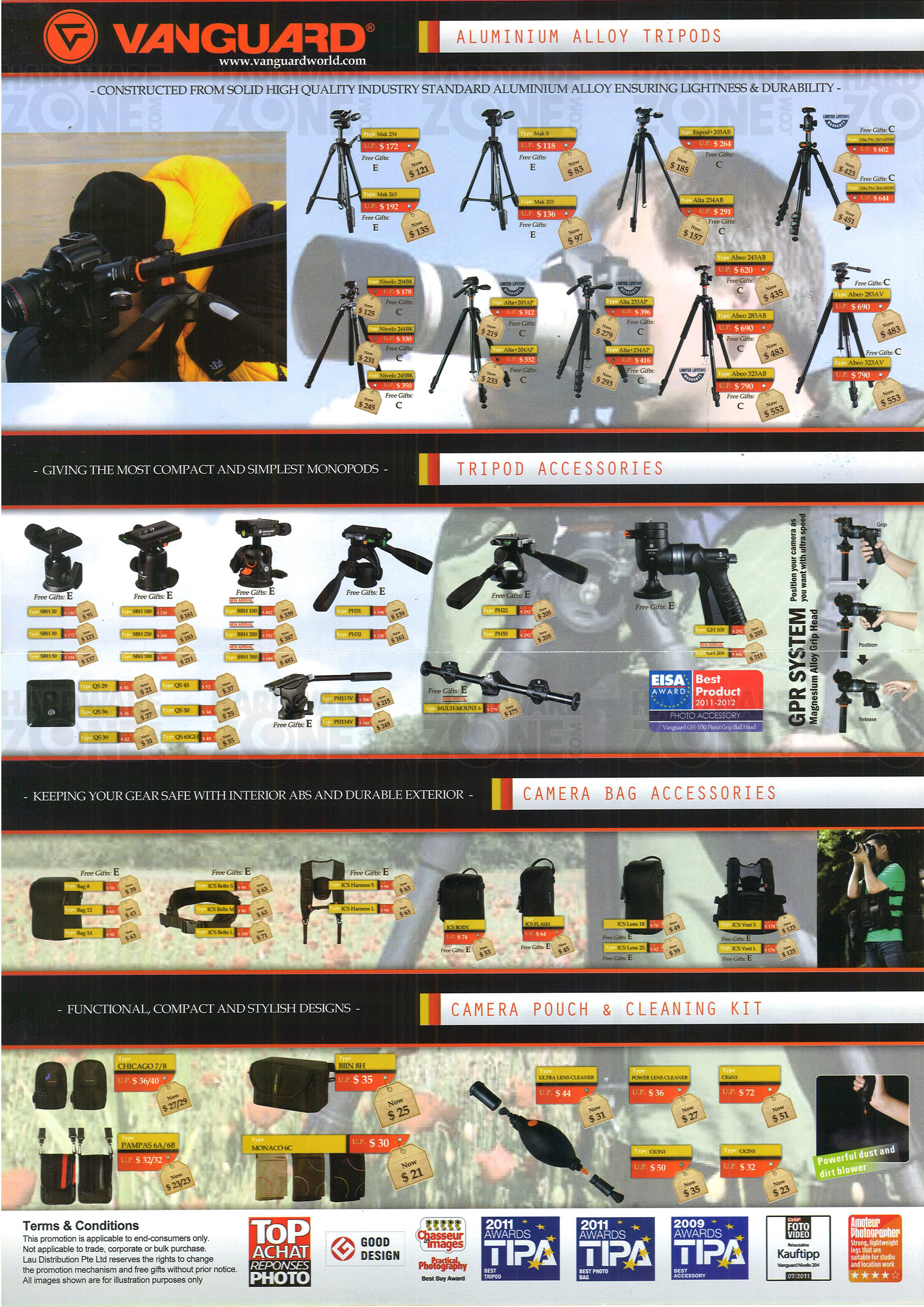 Vanguard Camera Accessories - Page 2