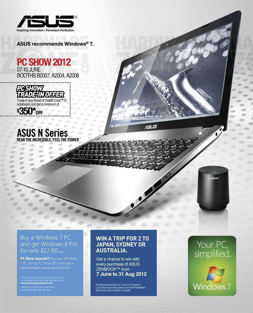 ASUS Notebooks - Page 01