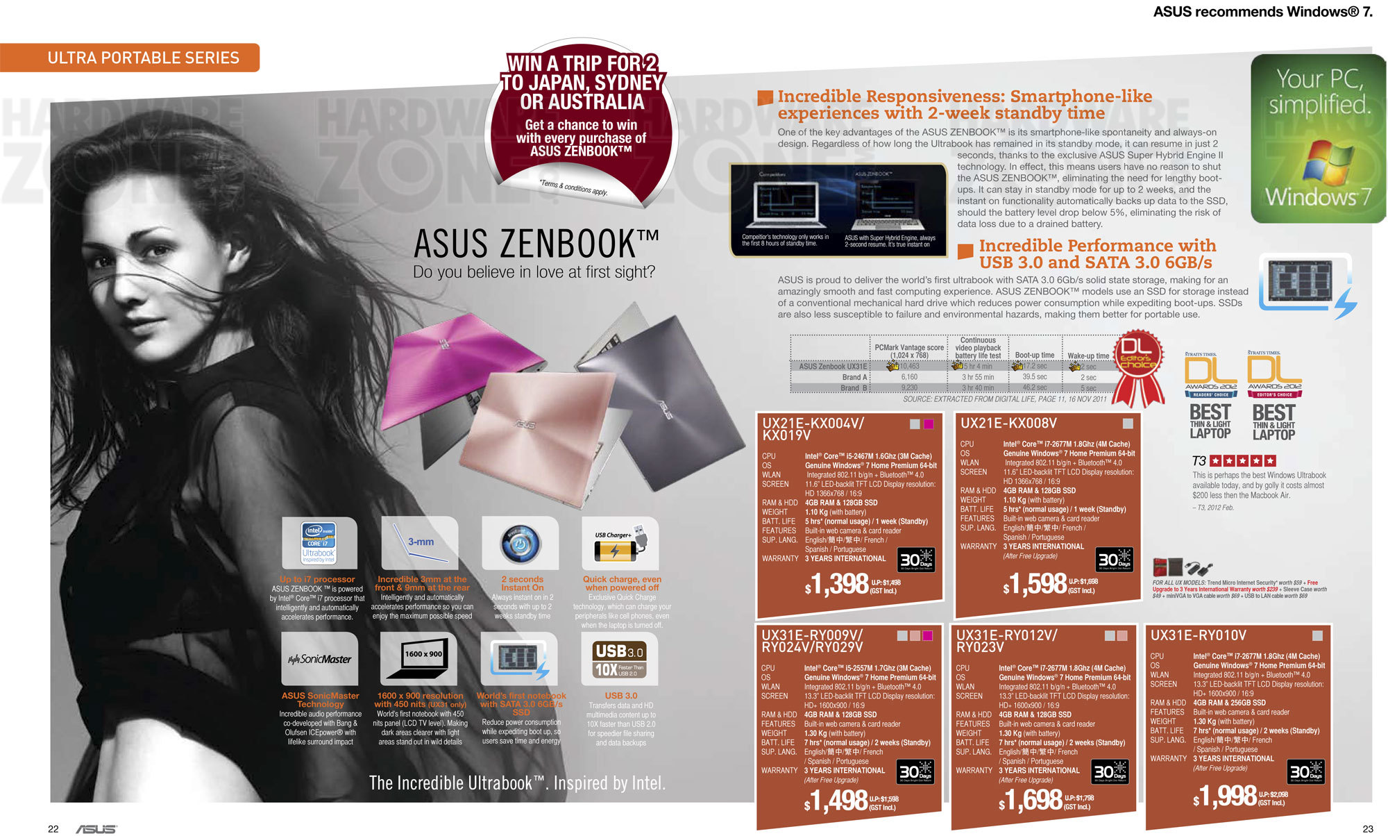 ASUS Notebooks - Page 03