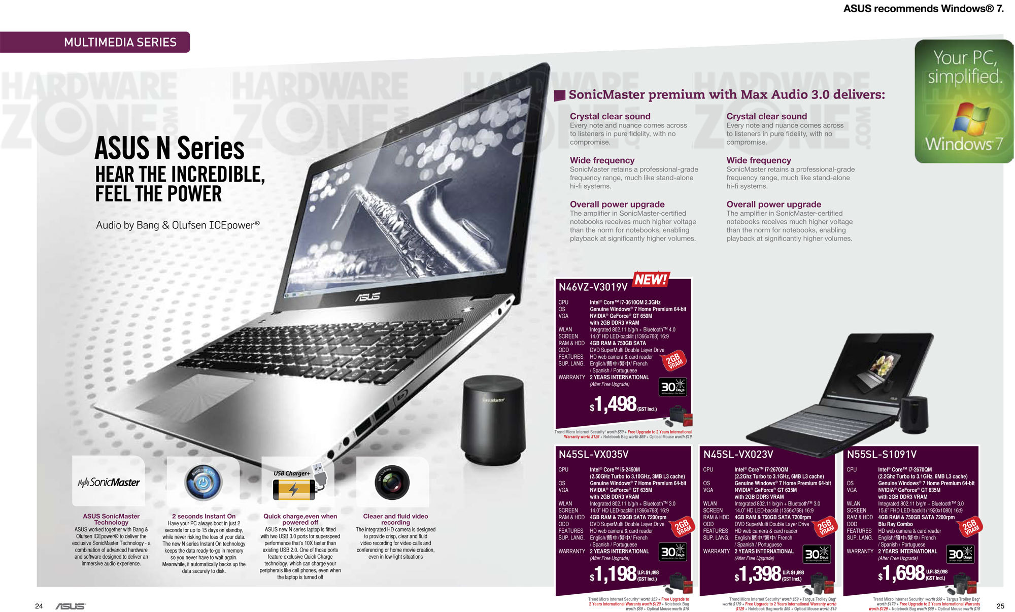 ASUS Notebooks - Page 04