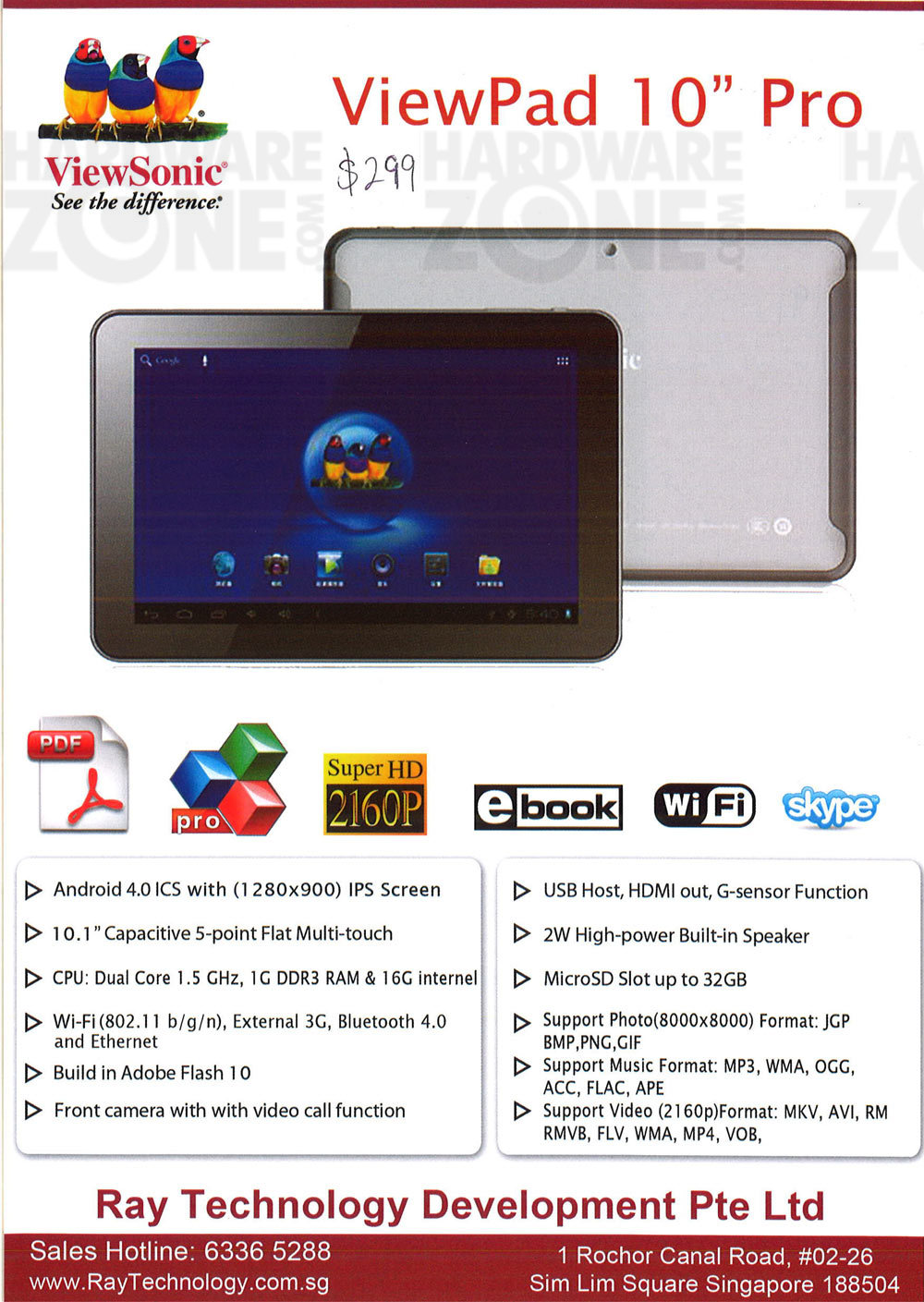 Viewsonic tablets - page 1