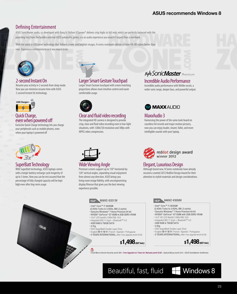 ASUS notebooks - Page 7