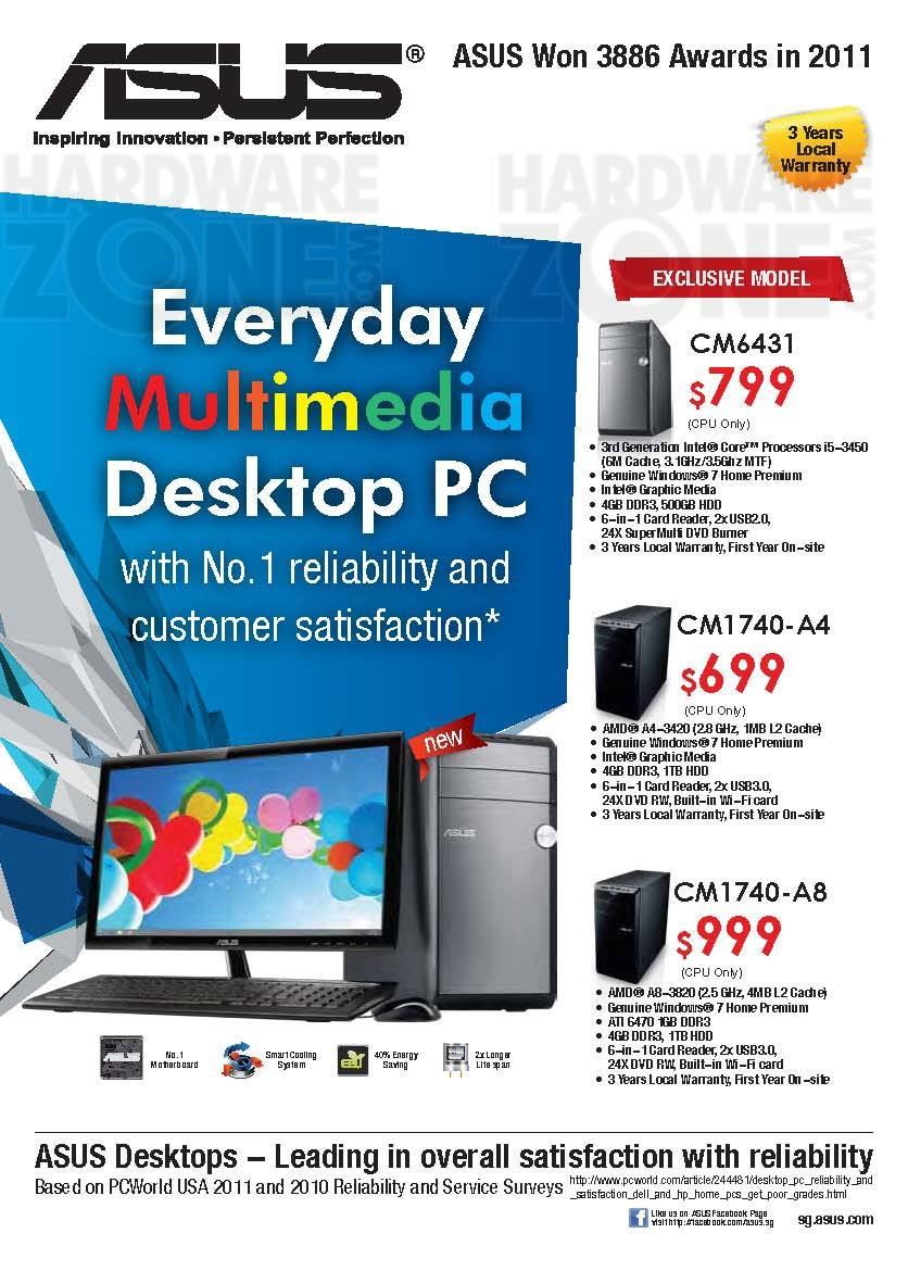 ASUS desktop PC - Page 2
