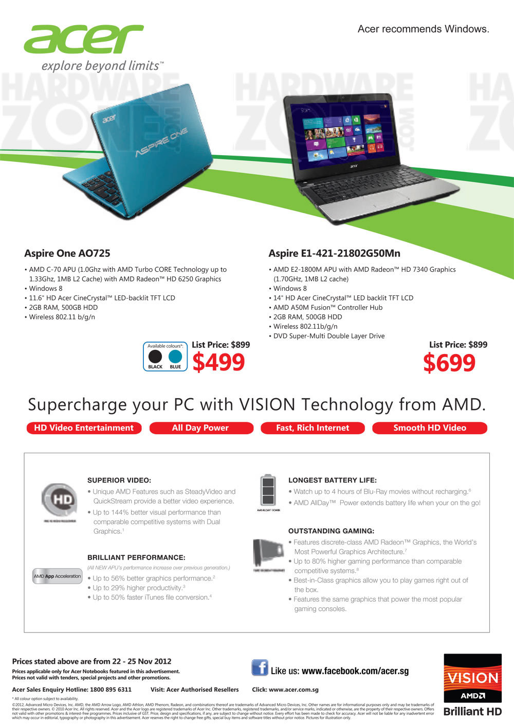 Acer Notebooks - Page 6
