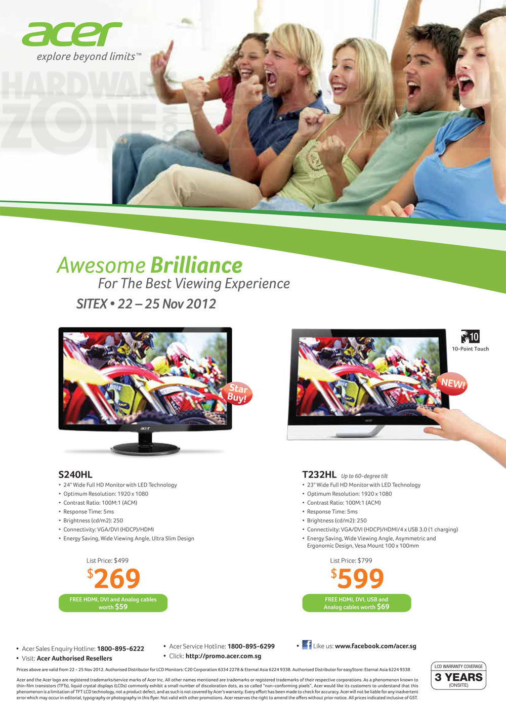 Acer Monitors - Page 1