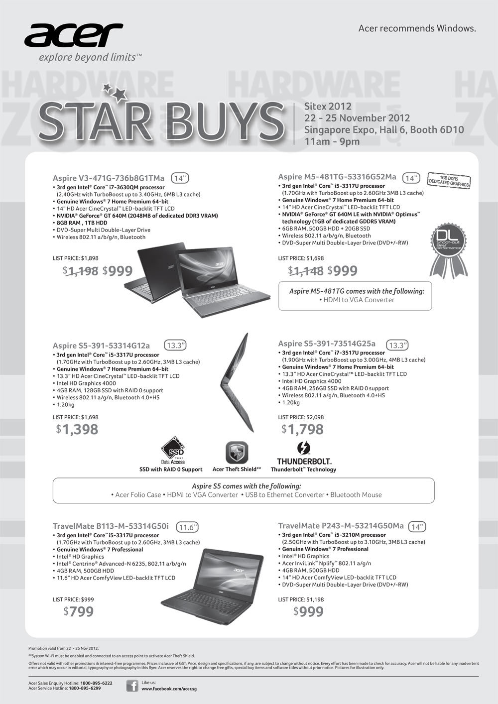 Acer Notebooks - Page 7