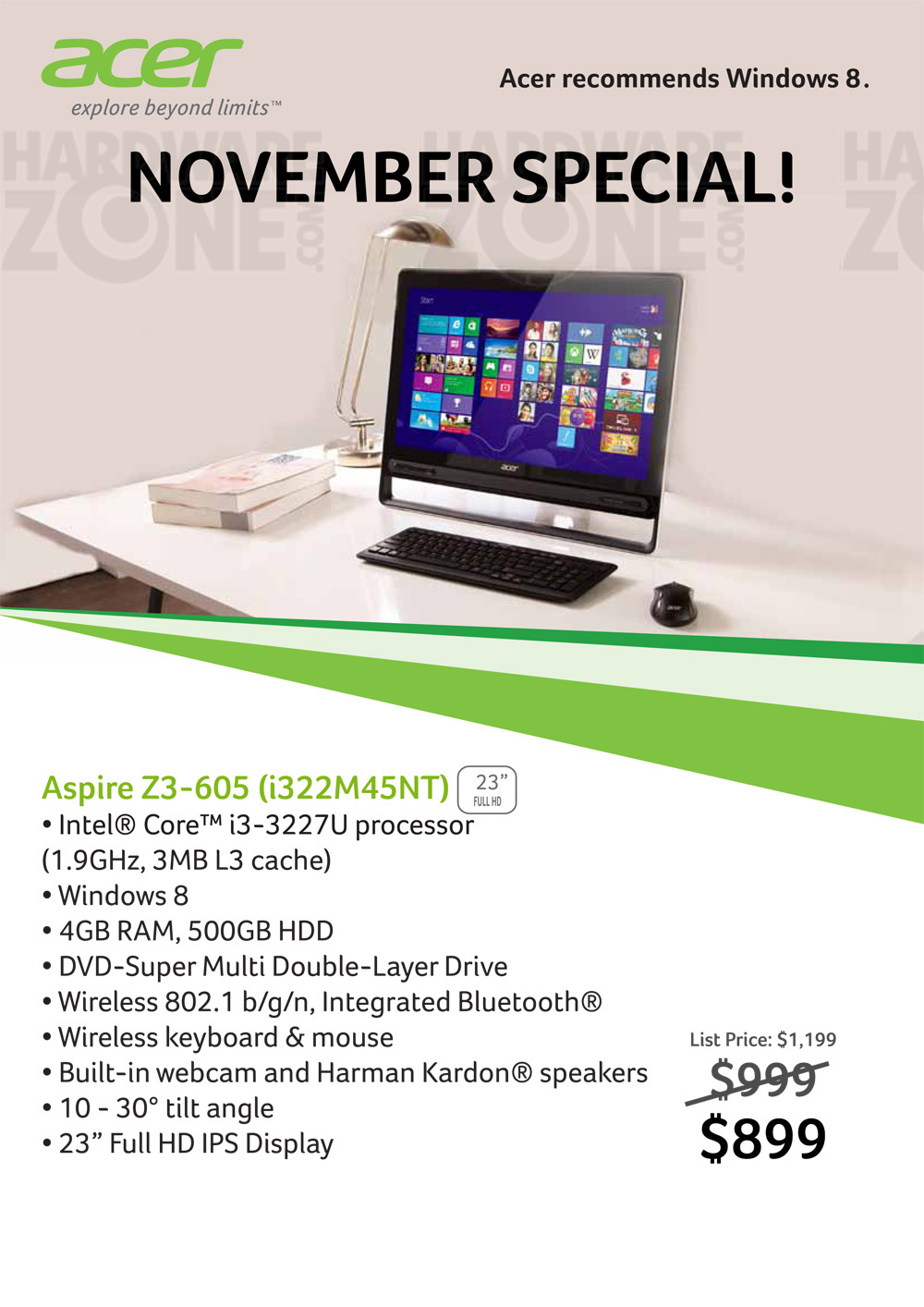 acer z3 aio pc promo brochures from cee singapore on tech show portal