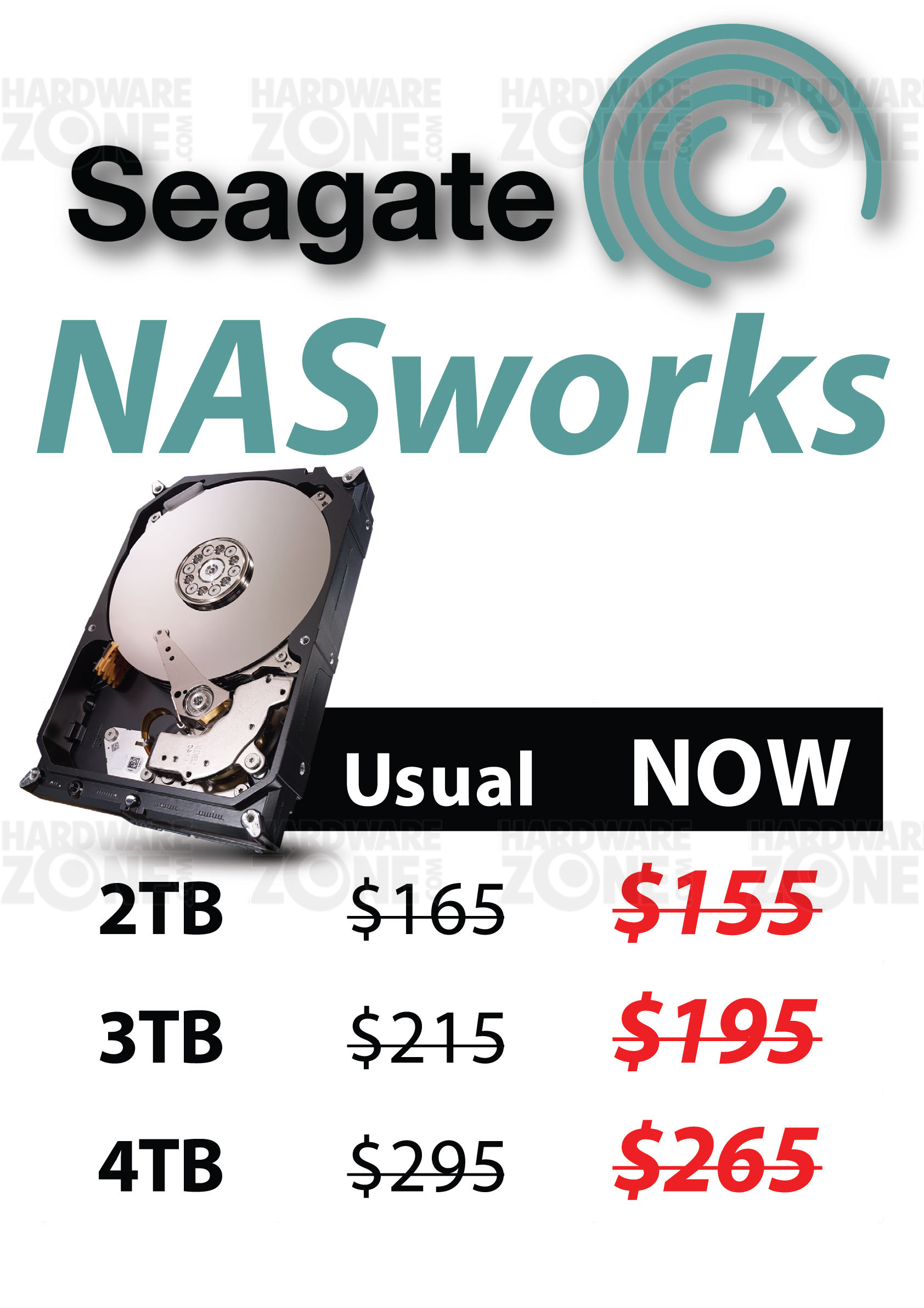 Seagate NASworks HDD