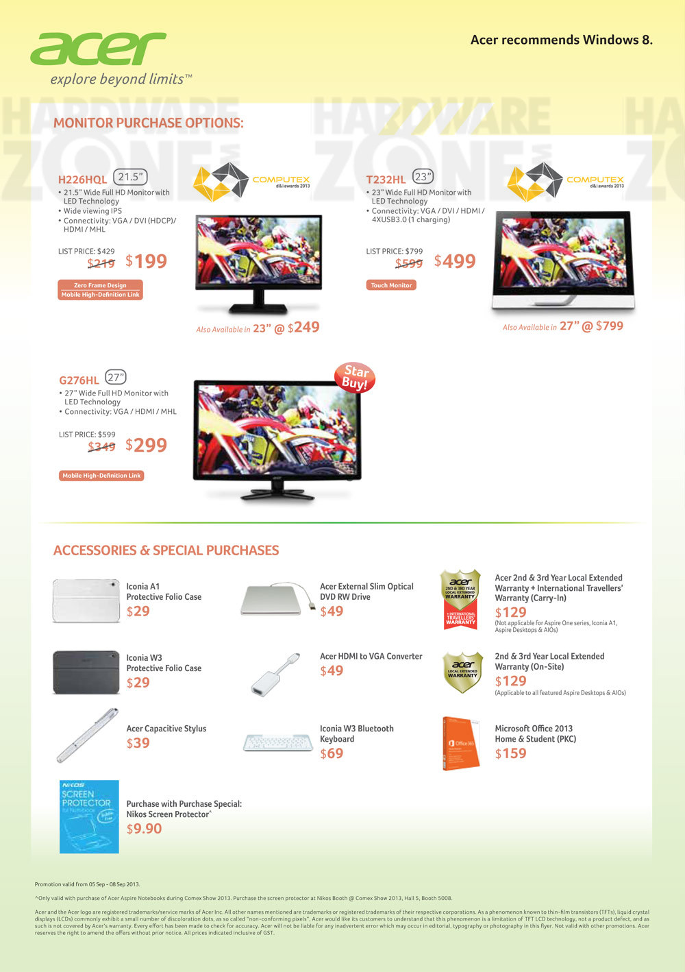 Acer monitors - page 3