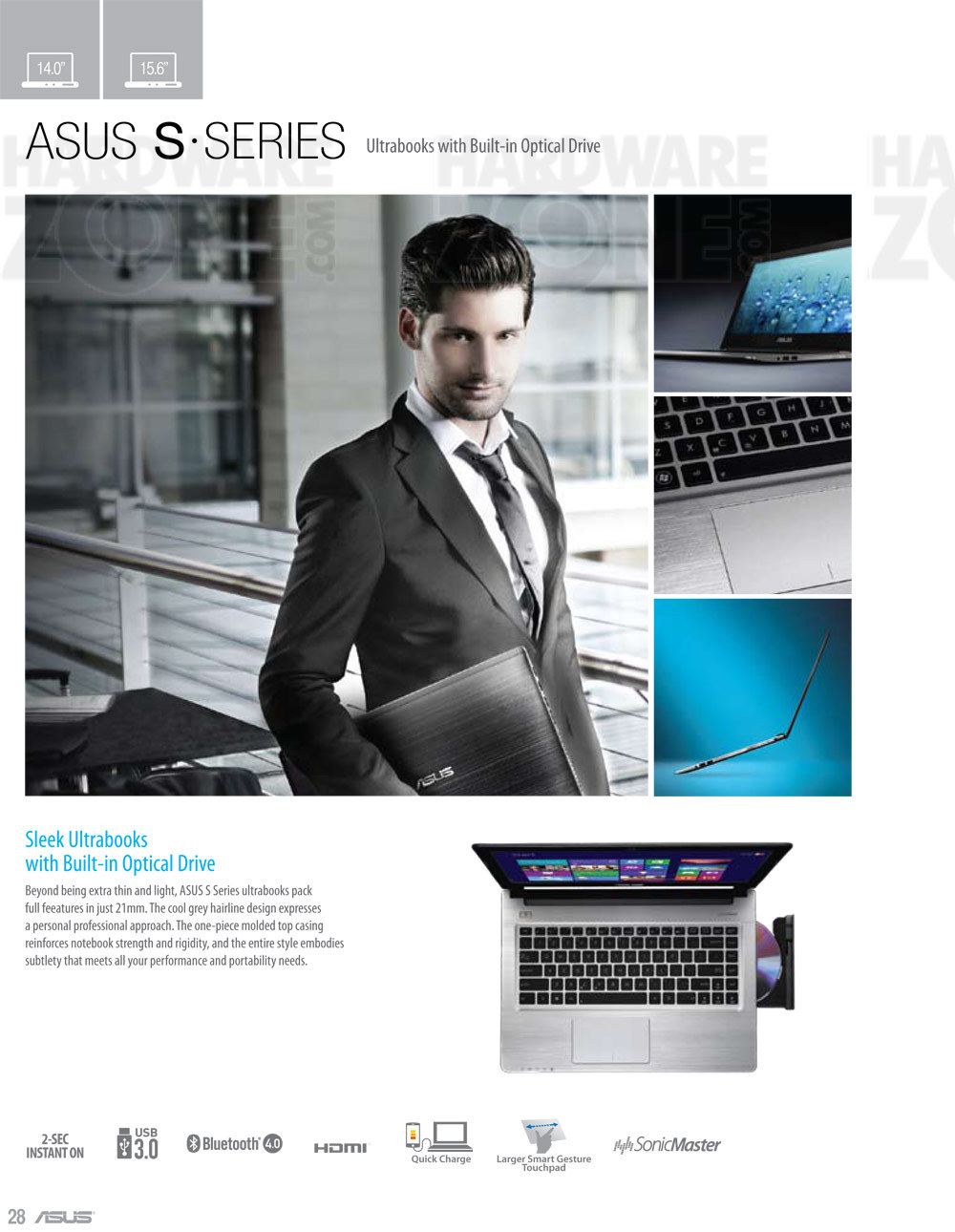 ASUS S-series notebooks - page 1