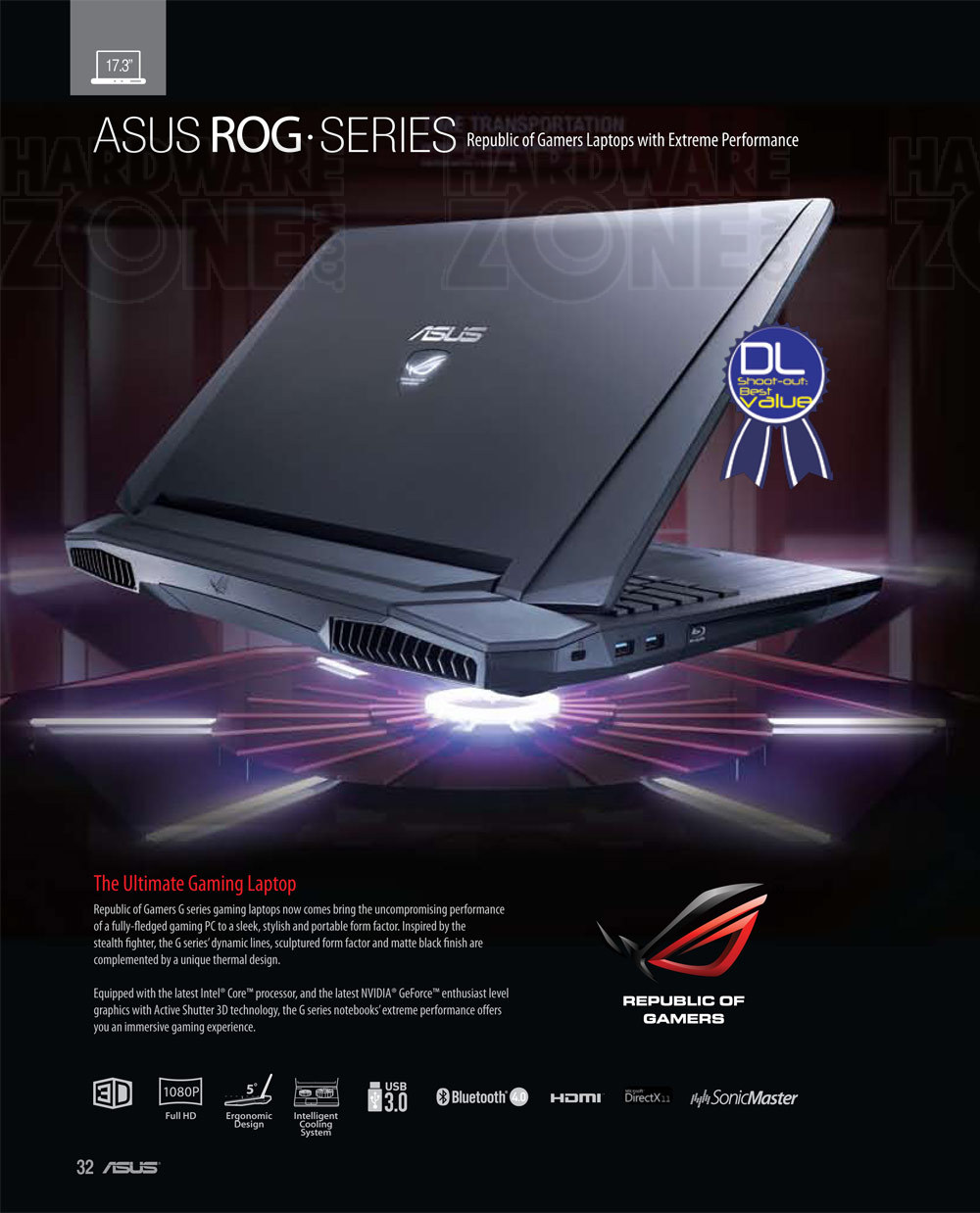 ASUS ROG-series notebooks - page 1