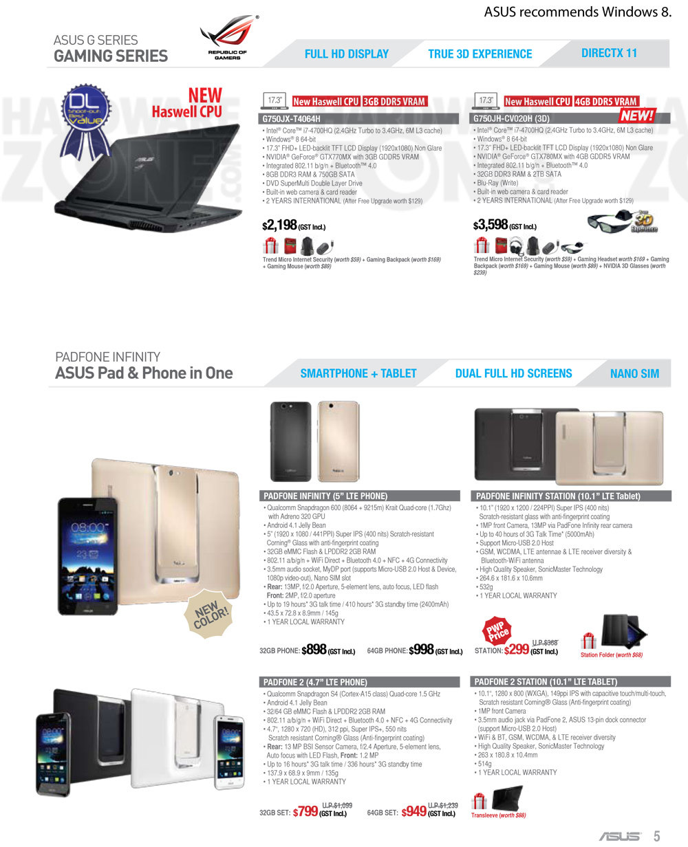 ASUS Notebooks - page 4