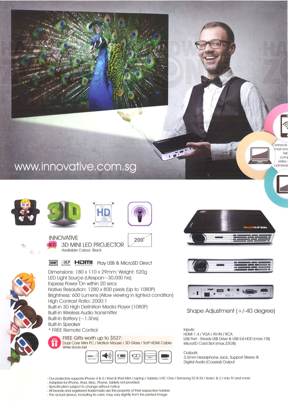 Innovative projectors - page 1