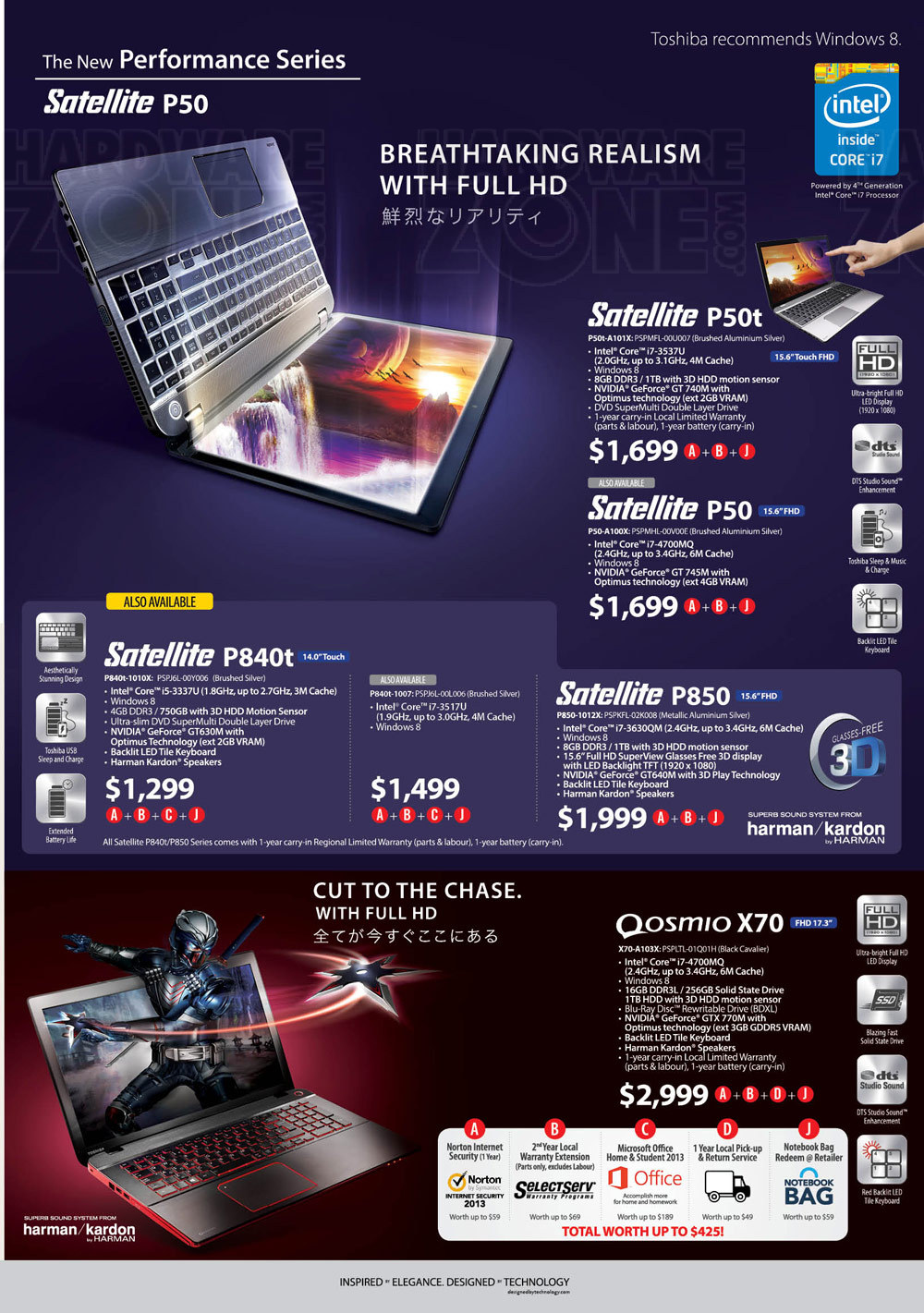 Toshiba notebooks - page 4