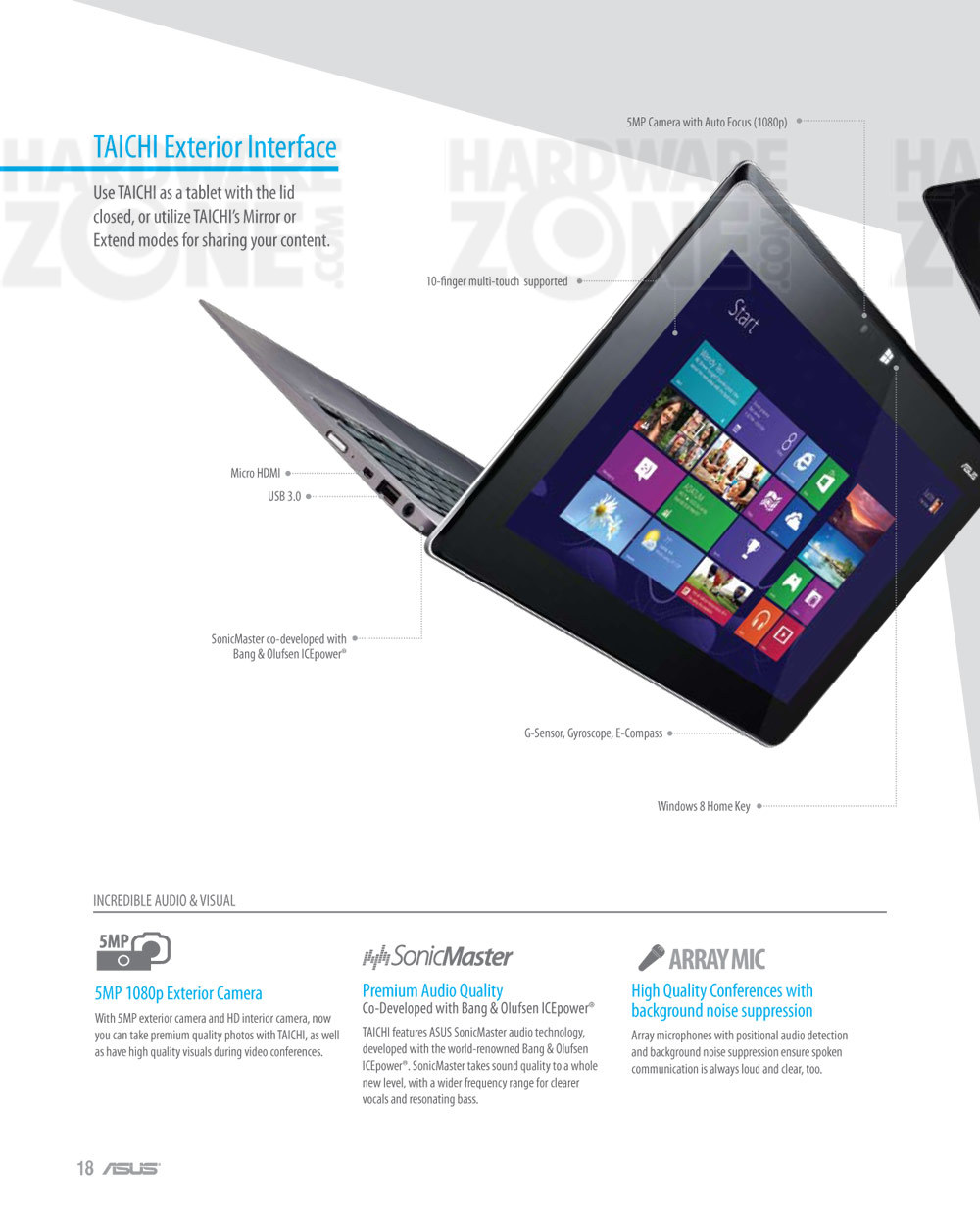 ASUS Taichi notebook - page 3