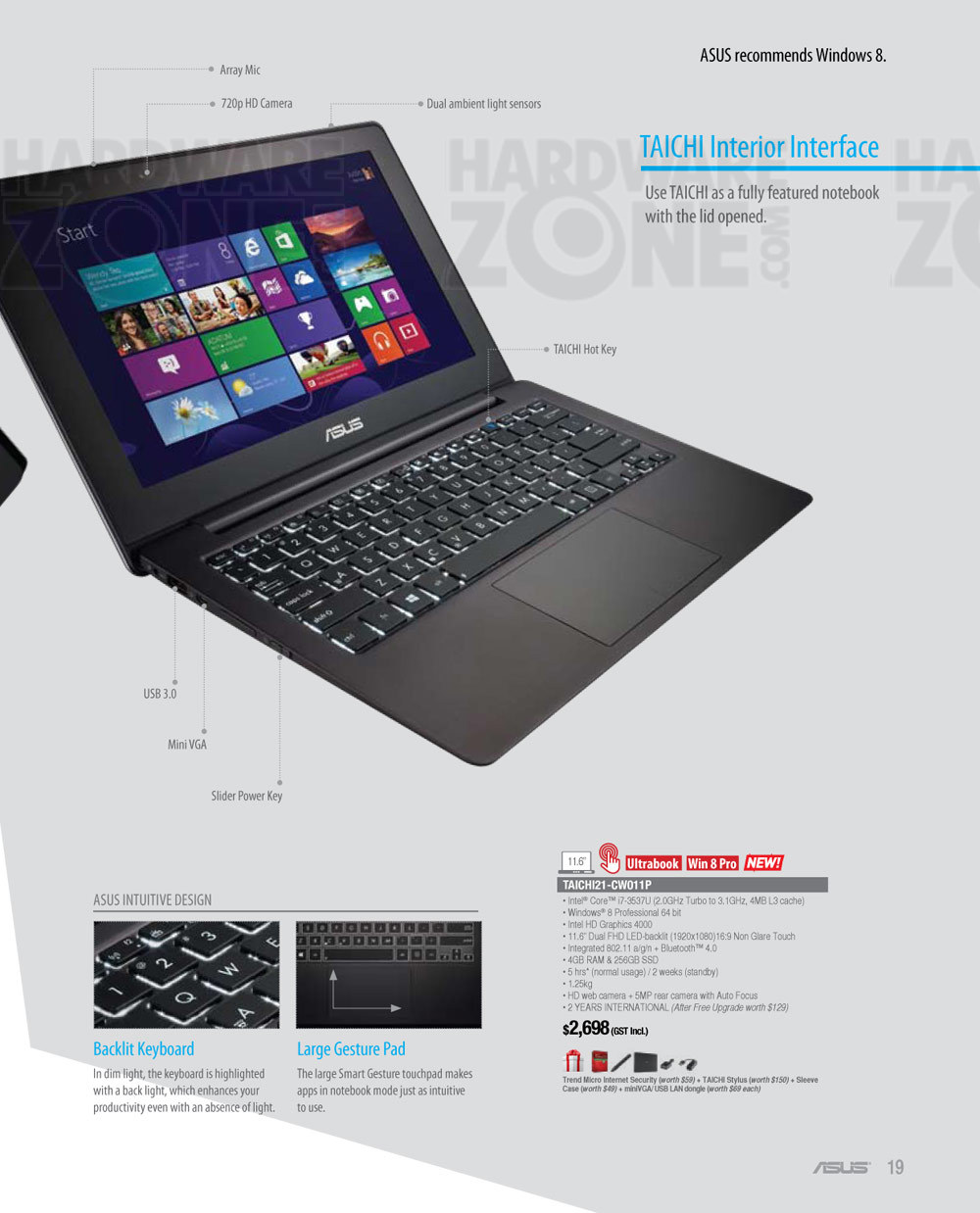 ASUS Taichi notebook - page 4