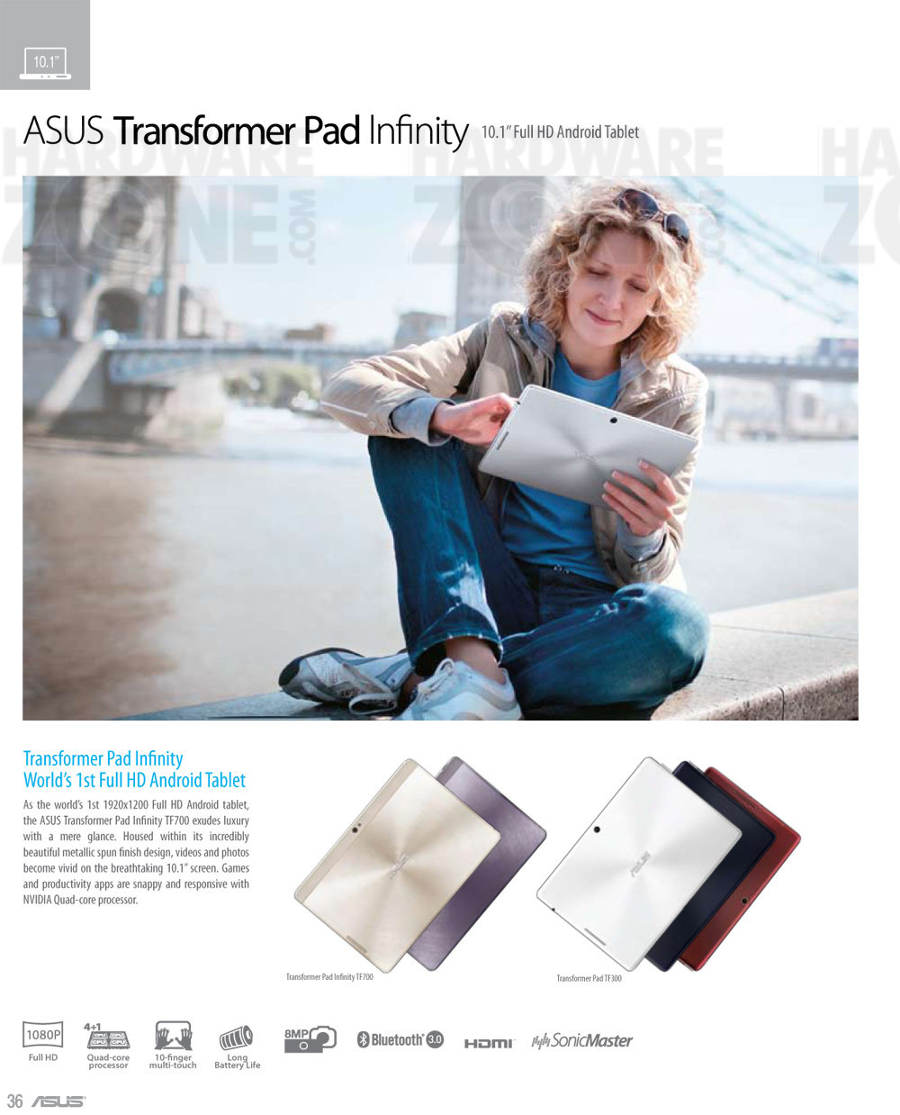 ASUS Transformer Pad Infinity - page 1