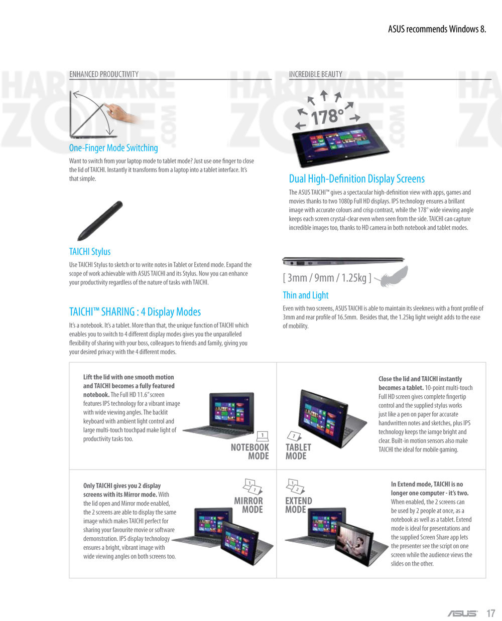 ASUS Taichi notebook - page 2