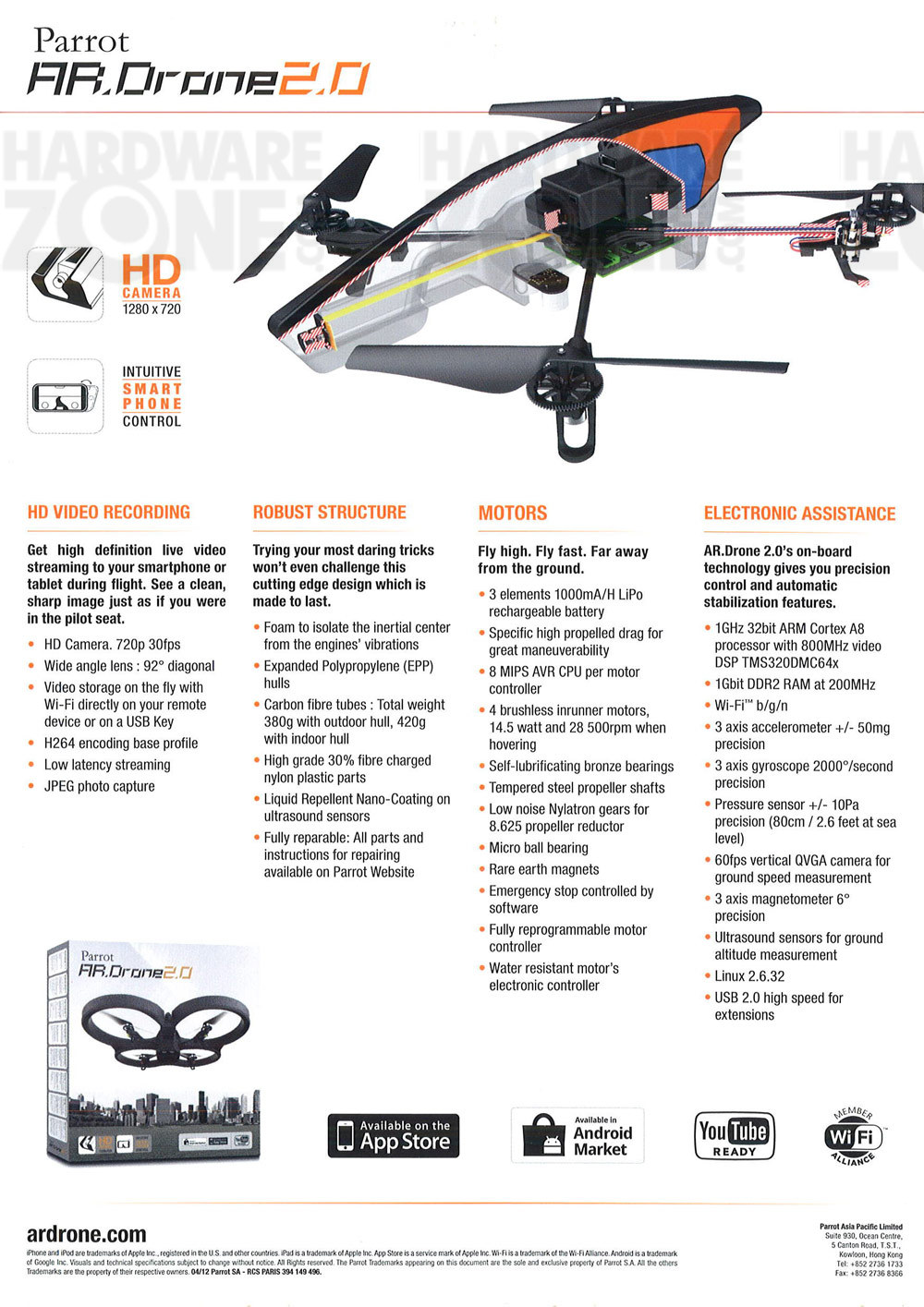 Parrot AR.Drone - page 2