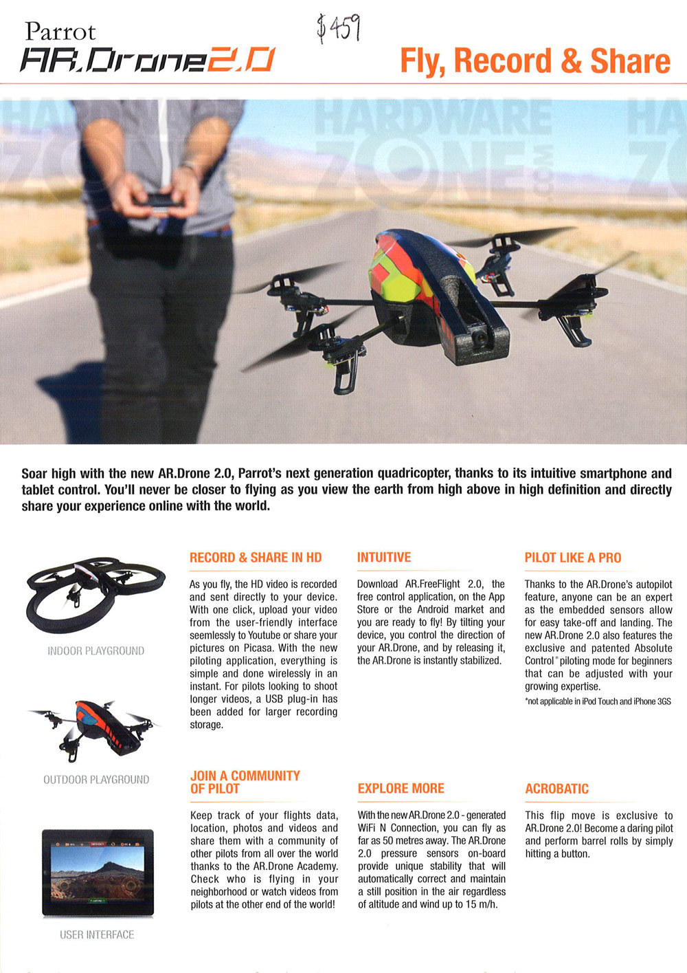 Parrot AR.Drone - page 1