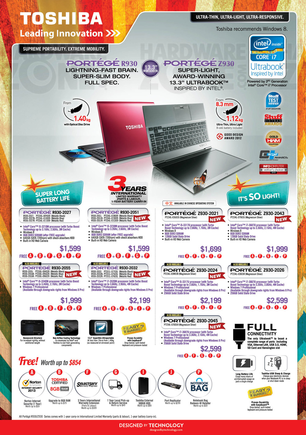 Toshiba notebooks - page 3