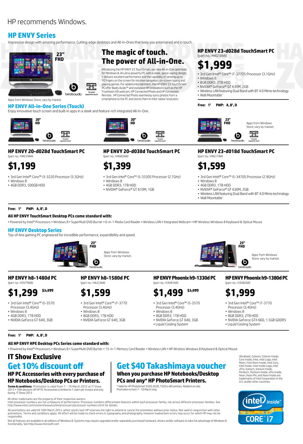 HP desktop PC - page 1