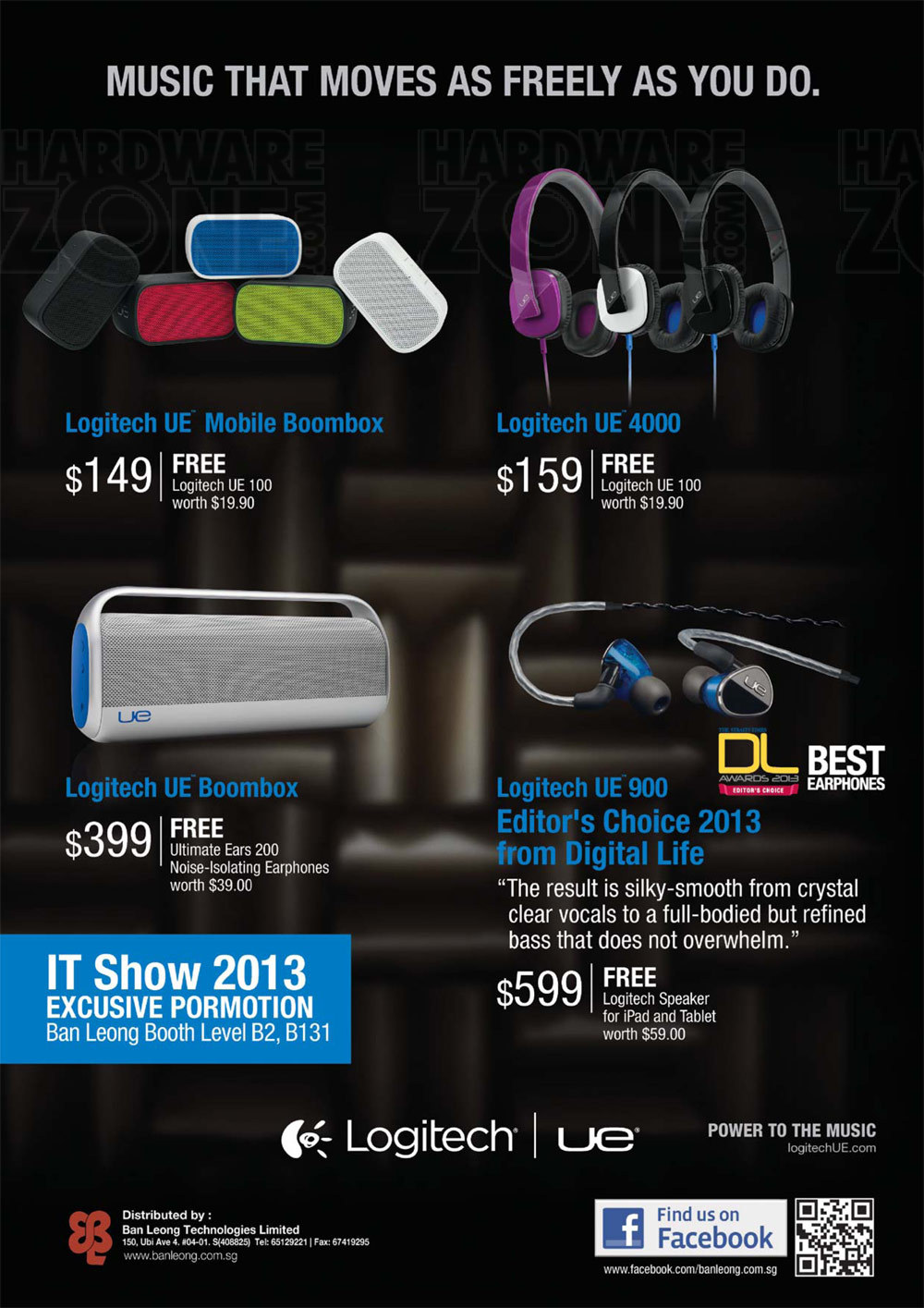 Logitech Audio accessories - page 1