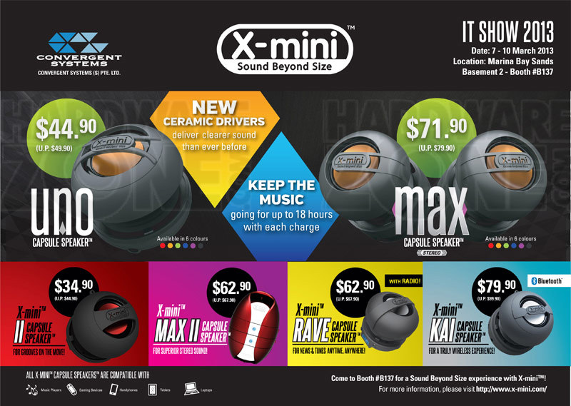 X-Mini speakers