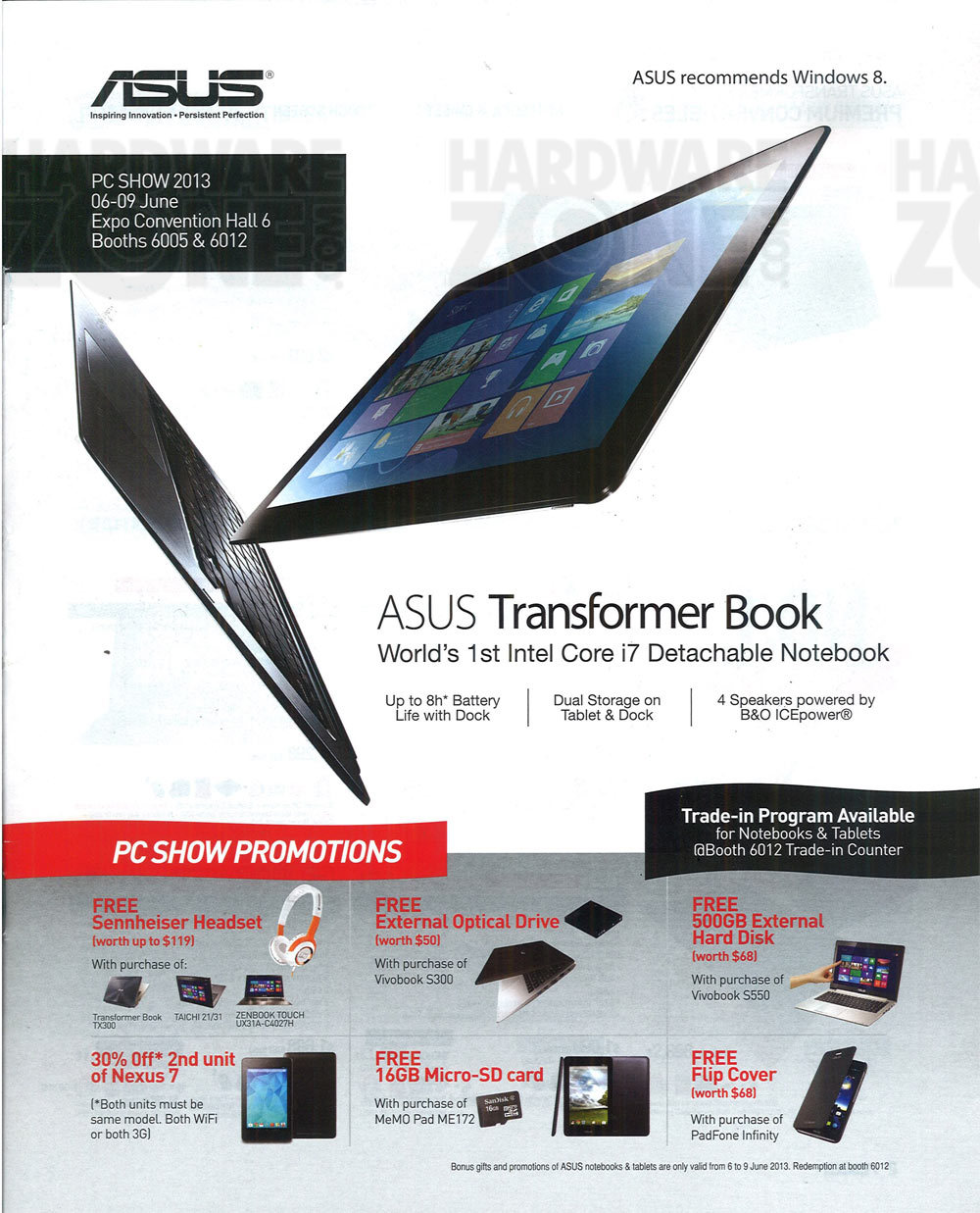 ASUS -  flyer page 1