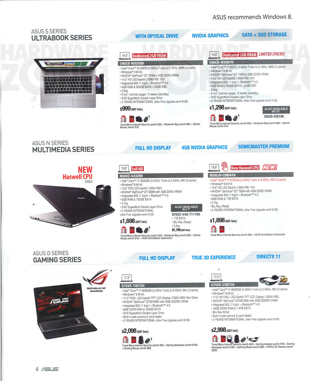 ASUS -  flyer page 4