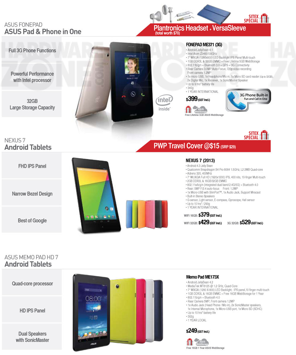 ASUS Tablets - page 1