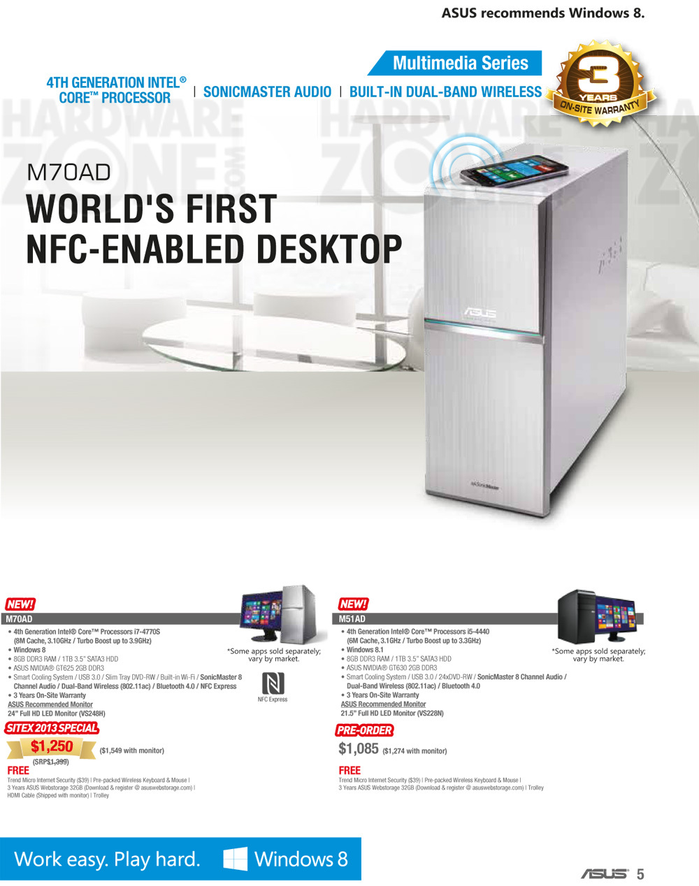 ASUS Desktop PC - page 1