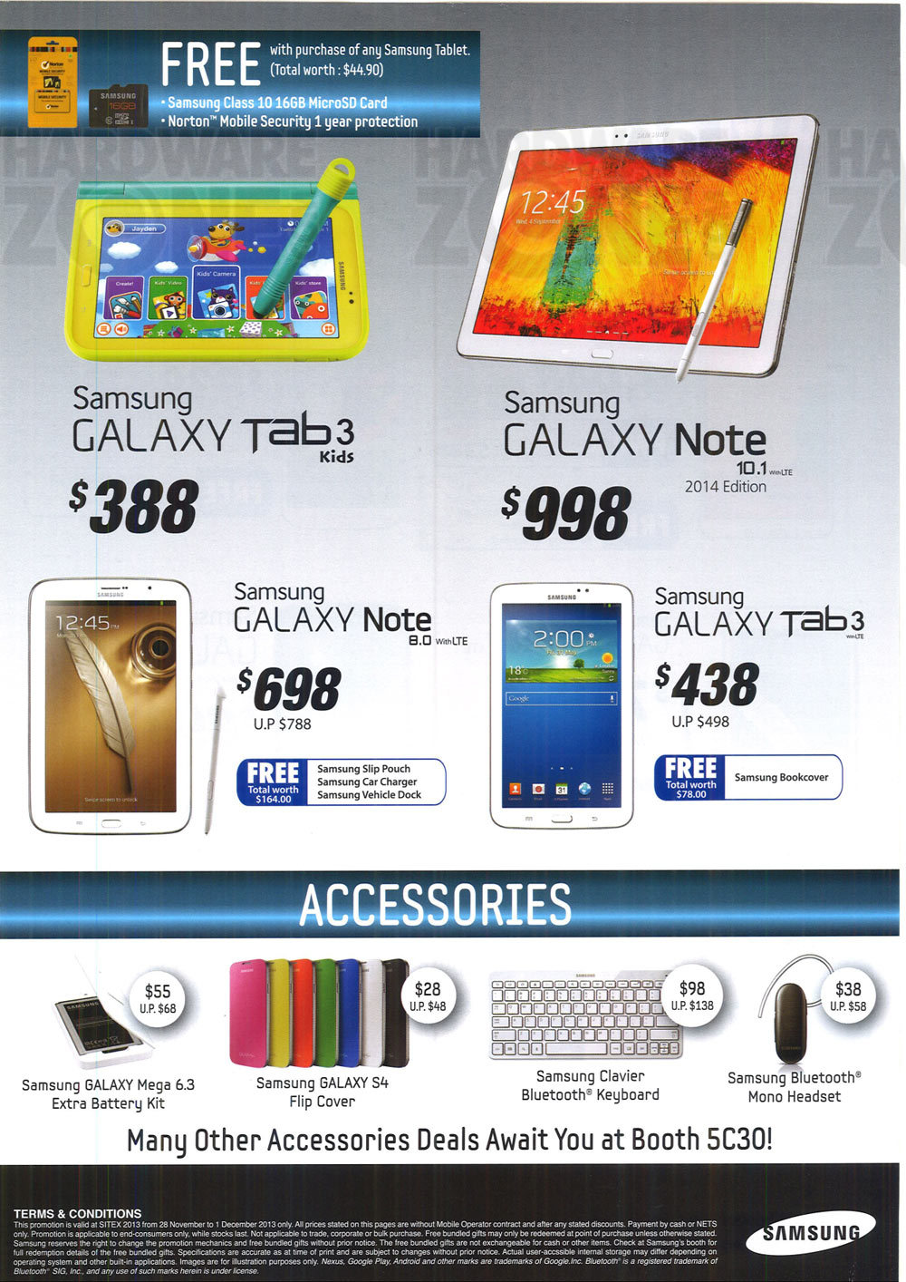 Samsung Tablets  - page 1