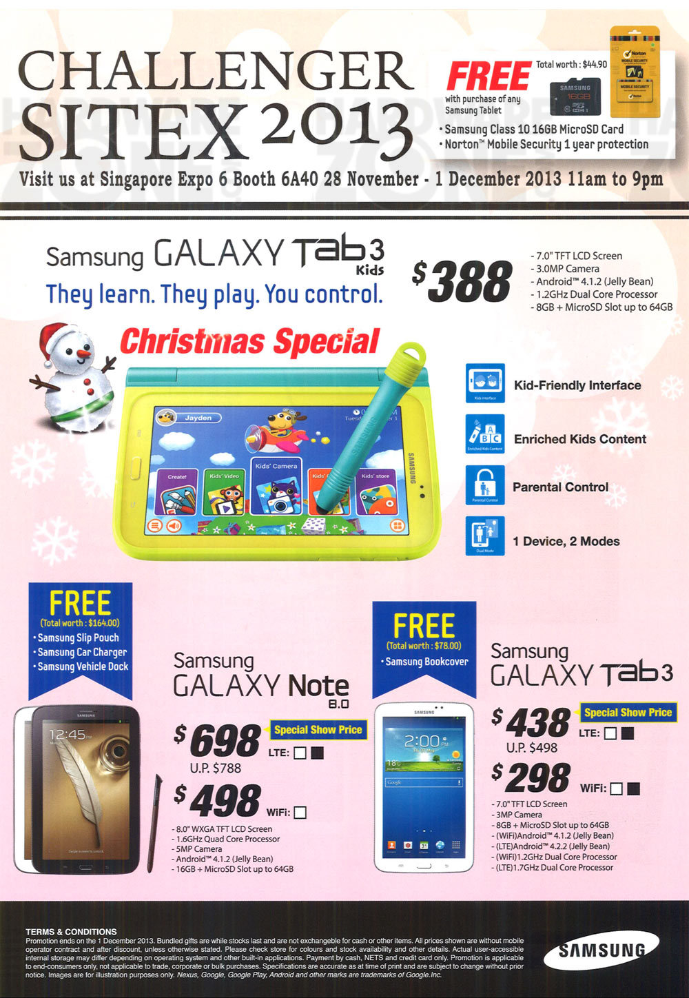 Samsung Tablets  - page 3