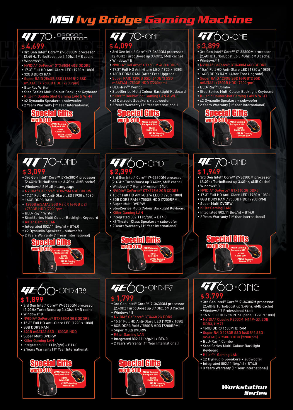 MSI gaming notebooks - page 4