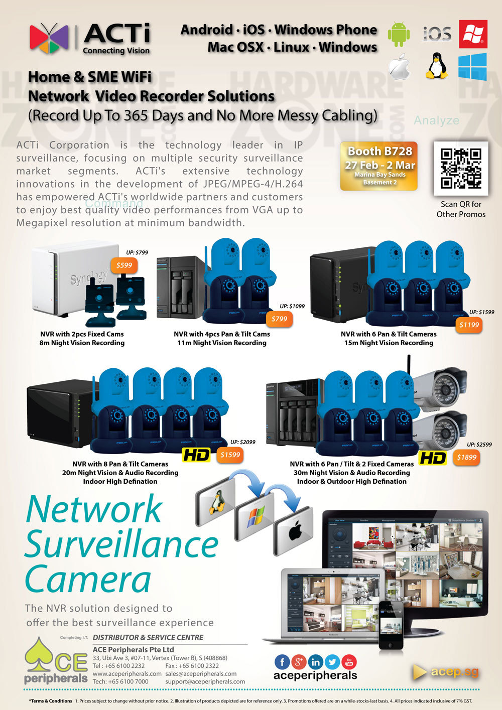 Acti network surveillance - page 1