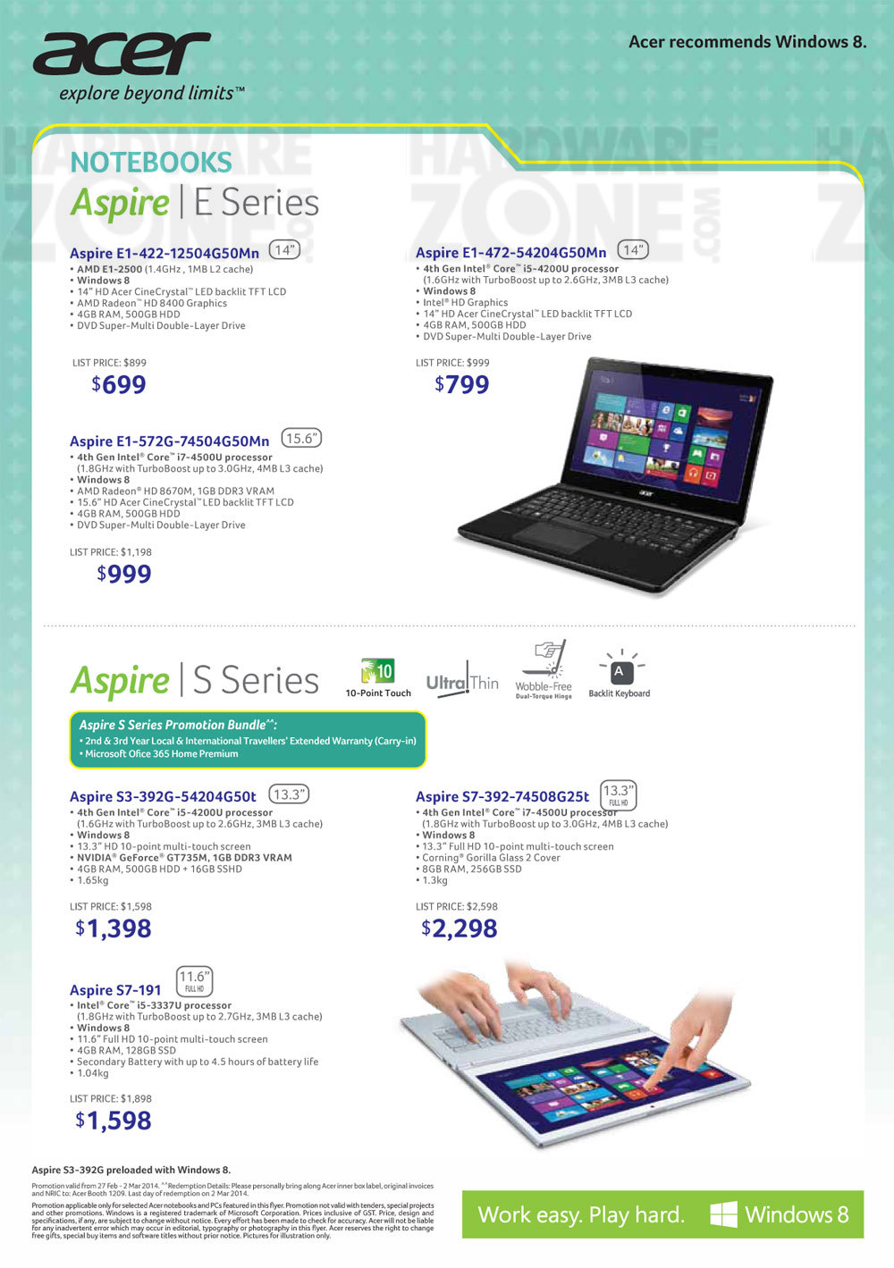 Acer notebooks - page 2