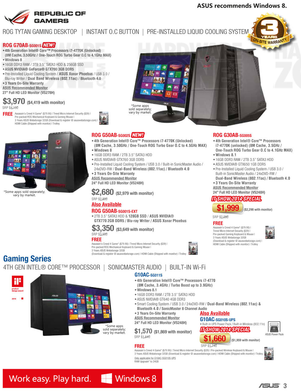 ASUS desktop PC - page 4