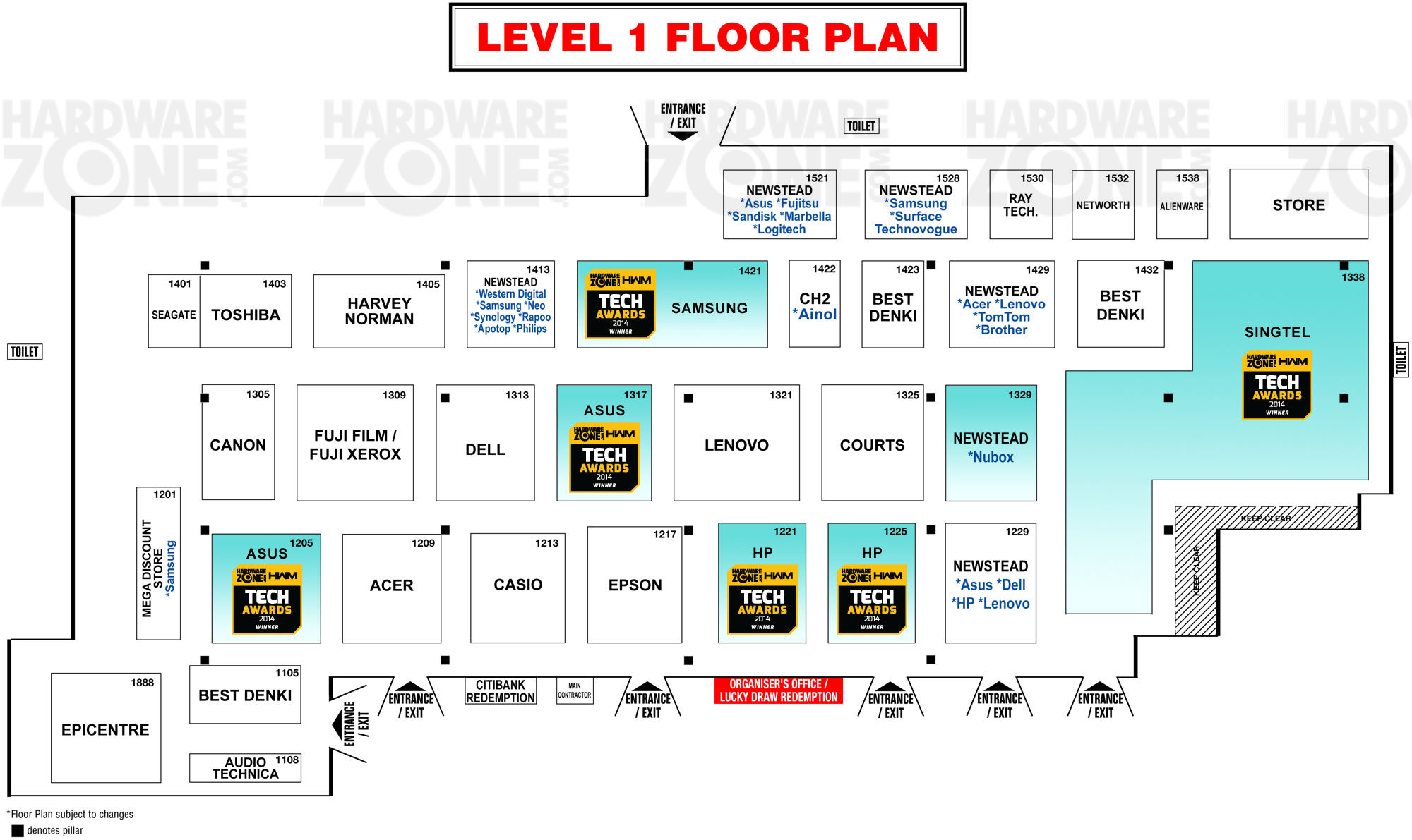 Sands Expo Floor Plan And Convention Center Las Vegas ConventionFloorplan