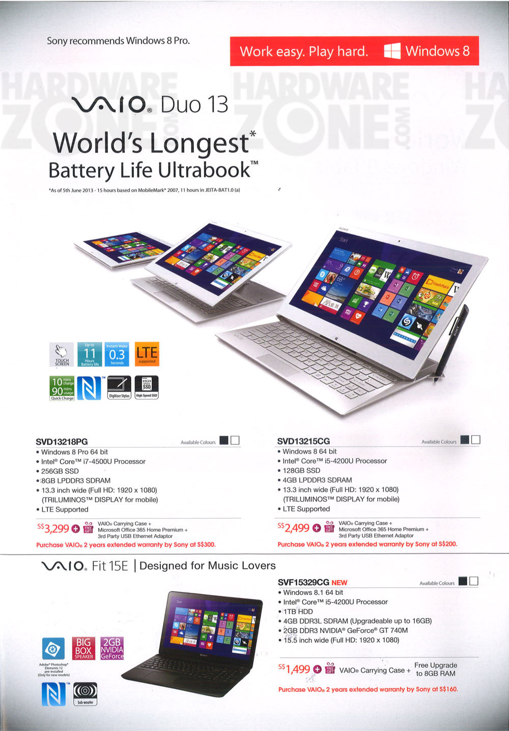 Sony notebooks - page 3