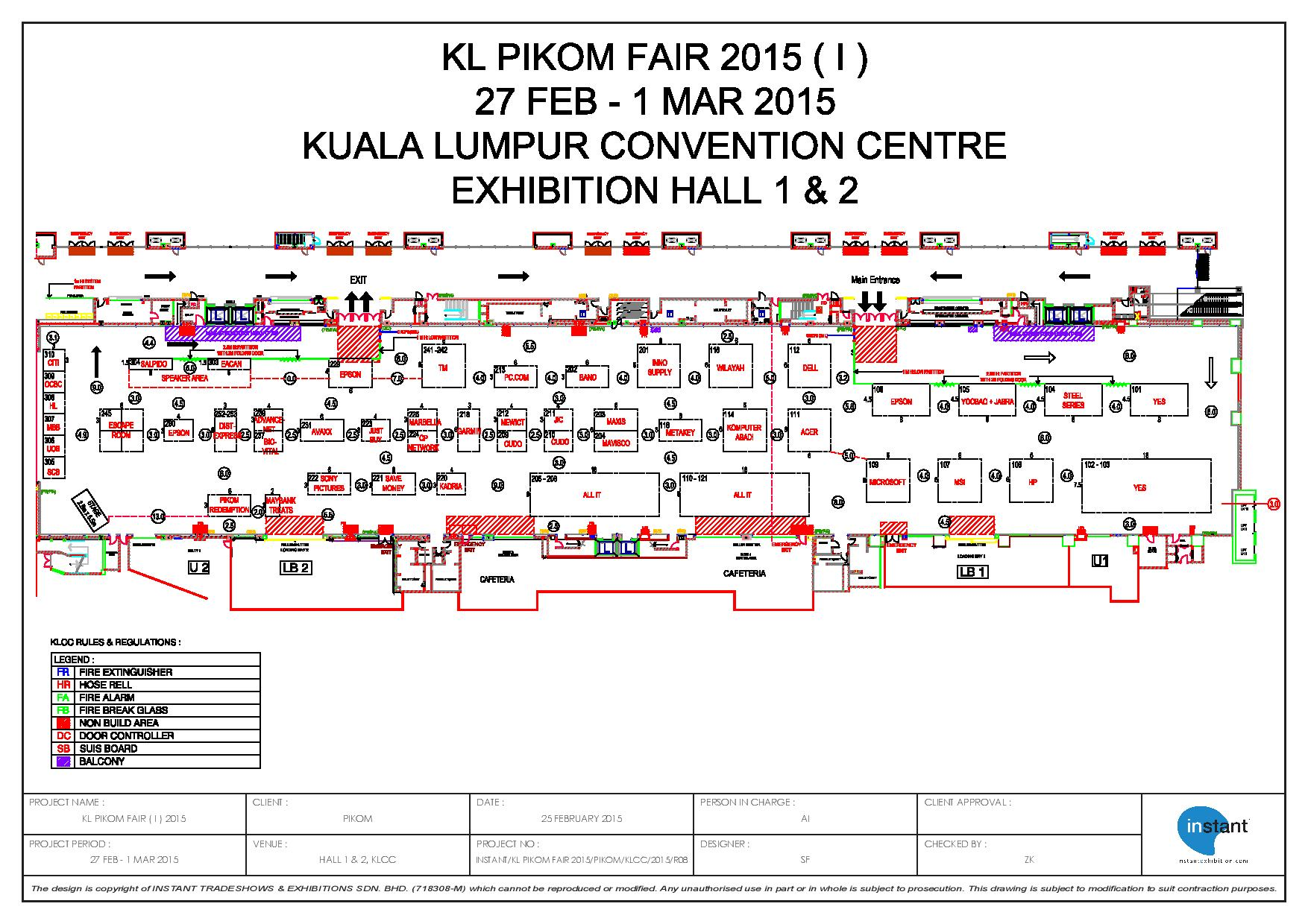 3d Exhibition Hall : Pikom fair i pricelists floorplans promotions