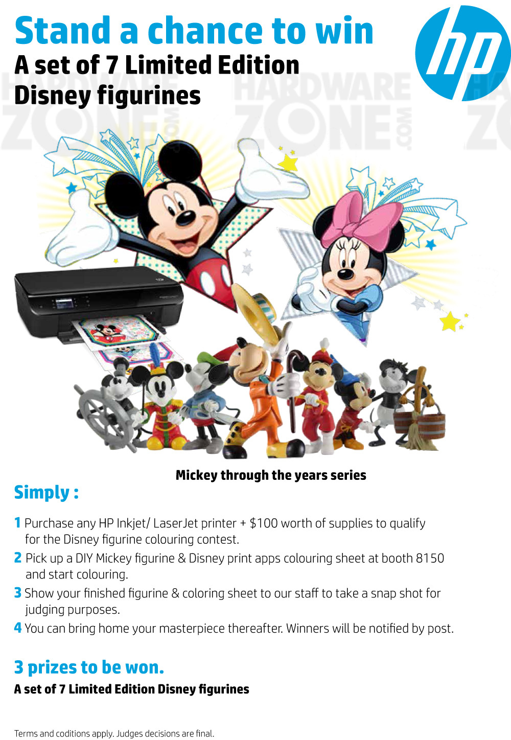 HP / Disney Contest Brochures from COMEX 2015 Singapore on ...
