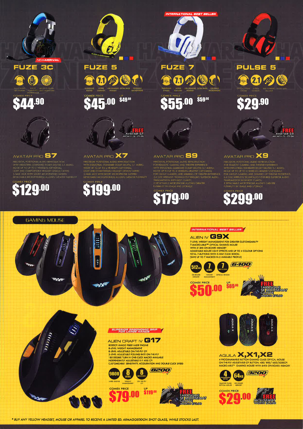 Bose Audio >> Armaggeddon - page 4 Brochures from COMEX 2015 Singapore ...