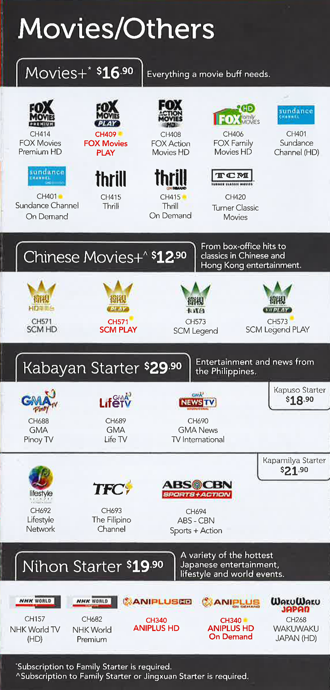 SingTel TV Pg 08 Brochures from COMEX 2015 Singapore on Tech