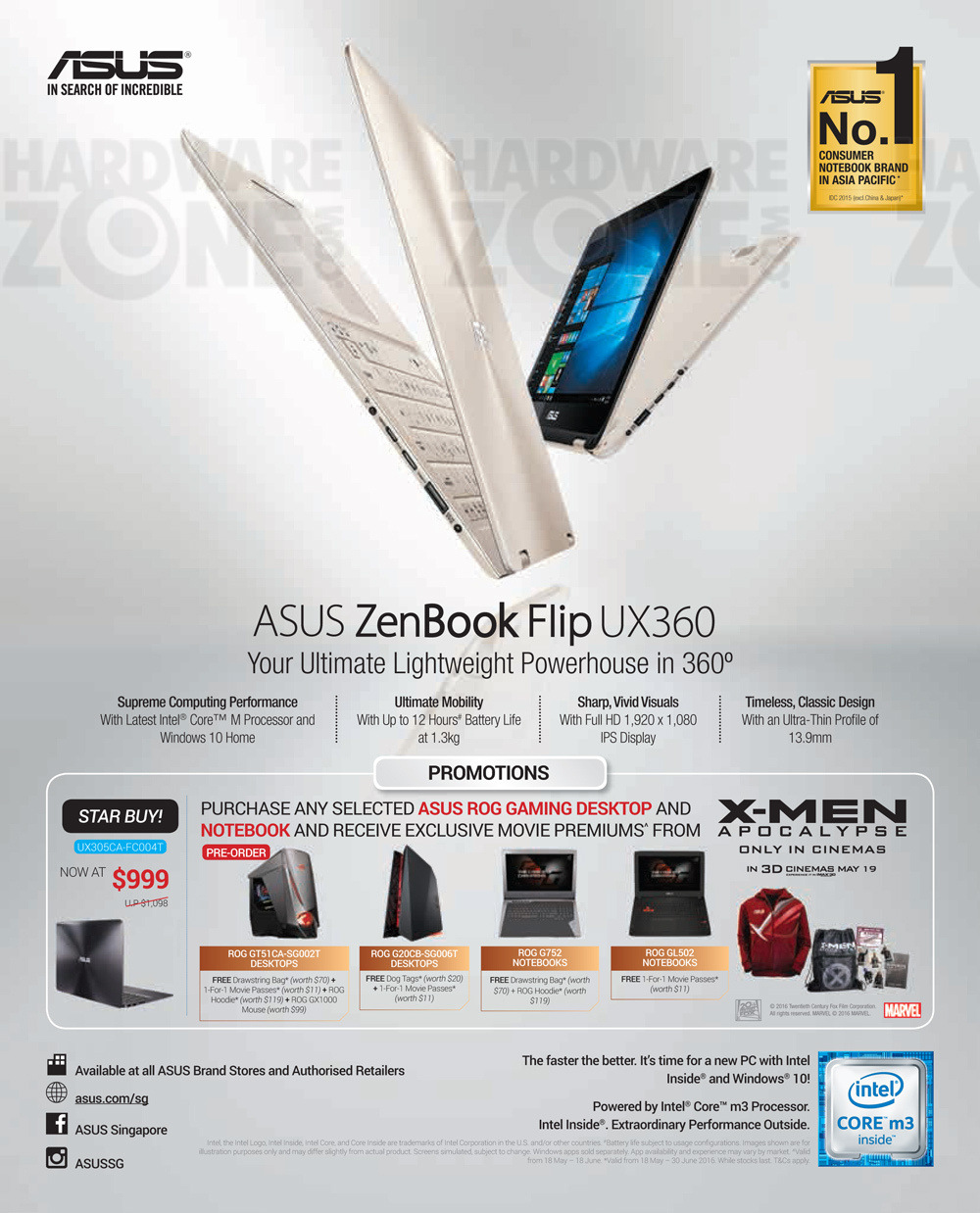 asus product guide pg 01 brochures from pc show 2016 singapore on rh hardwarezone com sg asus product guide 2017 asus product guide 2018