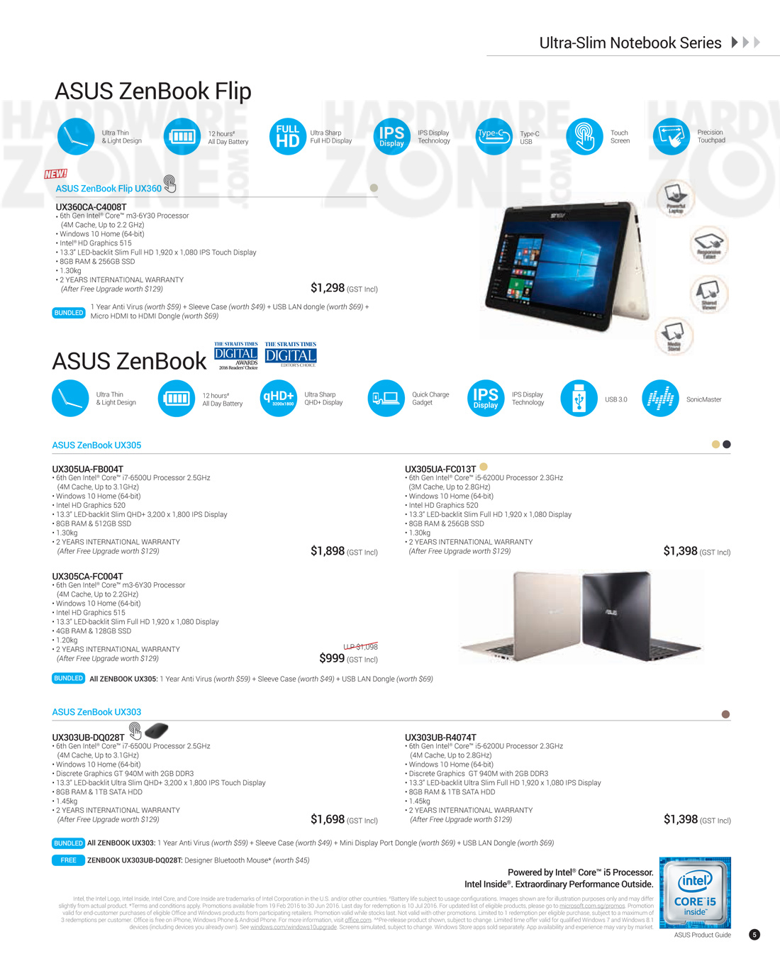 asus product guide pg 05 brochures from pc show 2016 singapore on rh hardwarezone com sg asus product guide 2017 asus product guide 2017